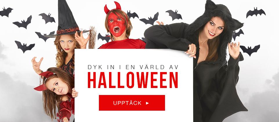 Halloween kostymer och Halloween tillbehör