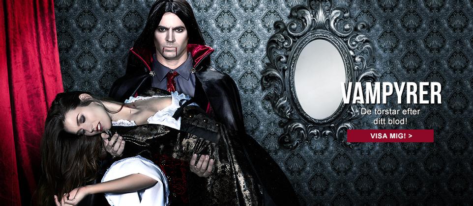 Vampyrernas natt! Upptäck de snyggaste vampyrdräkterna till Halloweenfesten!
