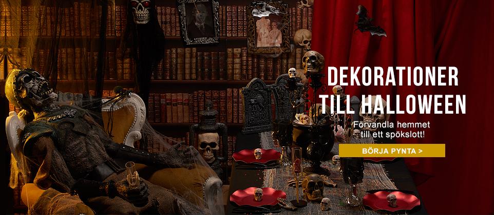 De snyggaste Halloweendekorationerna som skapar skräckstämning till festen!