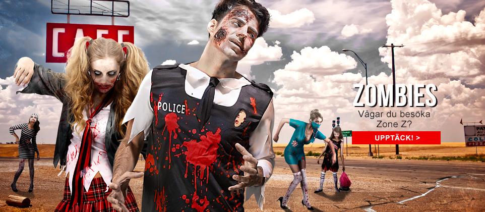 Förvandla dig själv till en Zombie på nolltid med Vegaoo.se!