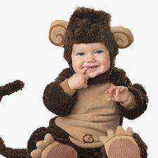 Maskeradkläder för bebisar