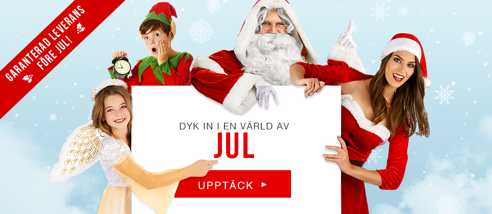 Juldräkter och kläder till jul