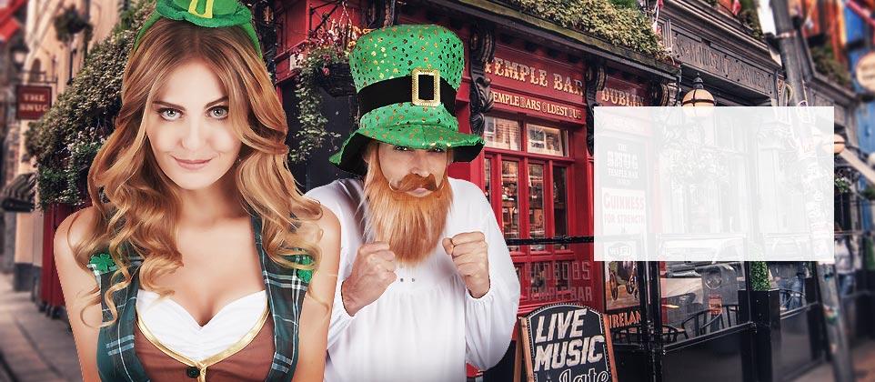 Fira St. Patrick's day med stil!