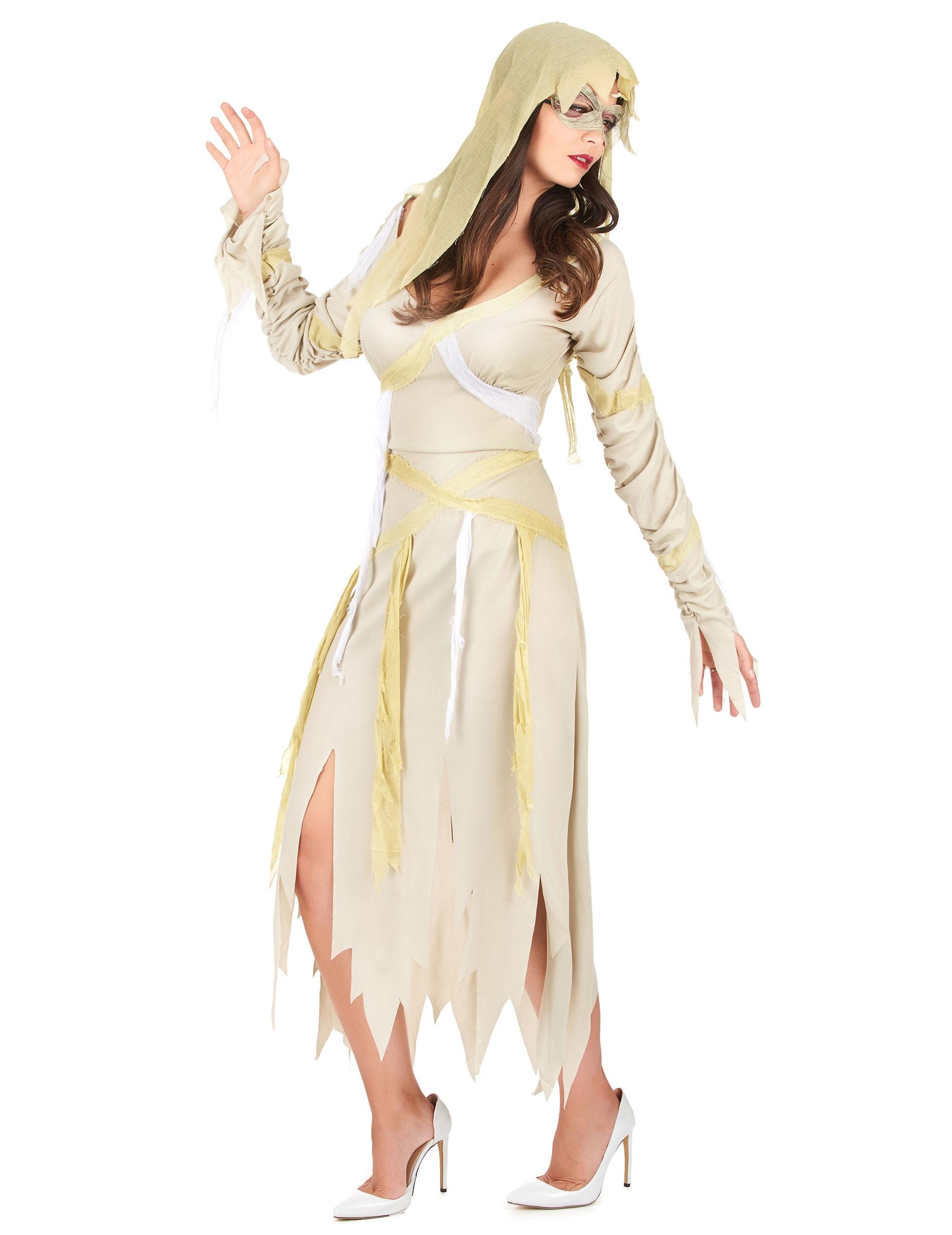 Mumie-utklädnad vuxen Halloween-1 9288a0b8c2796