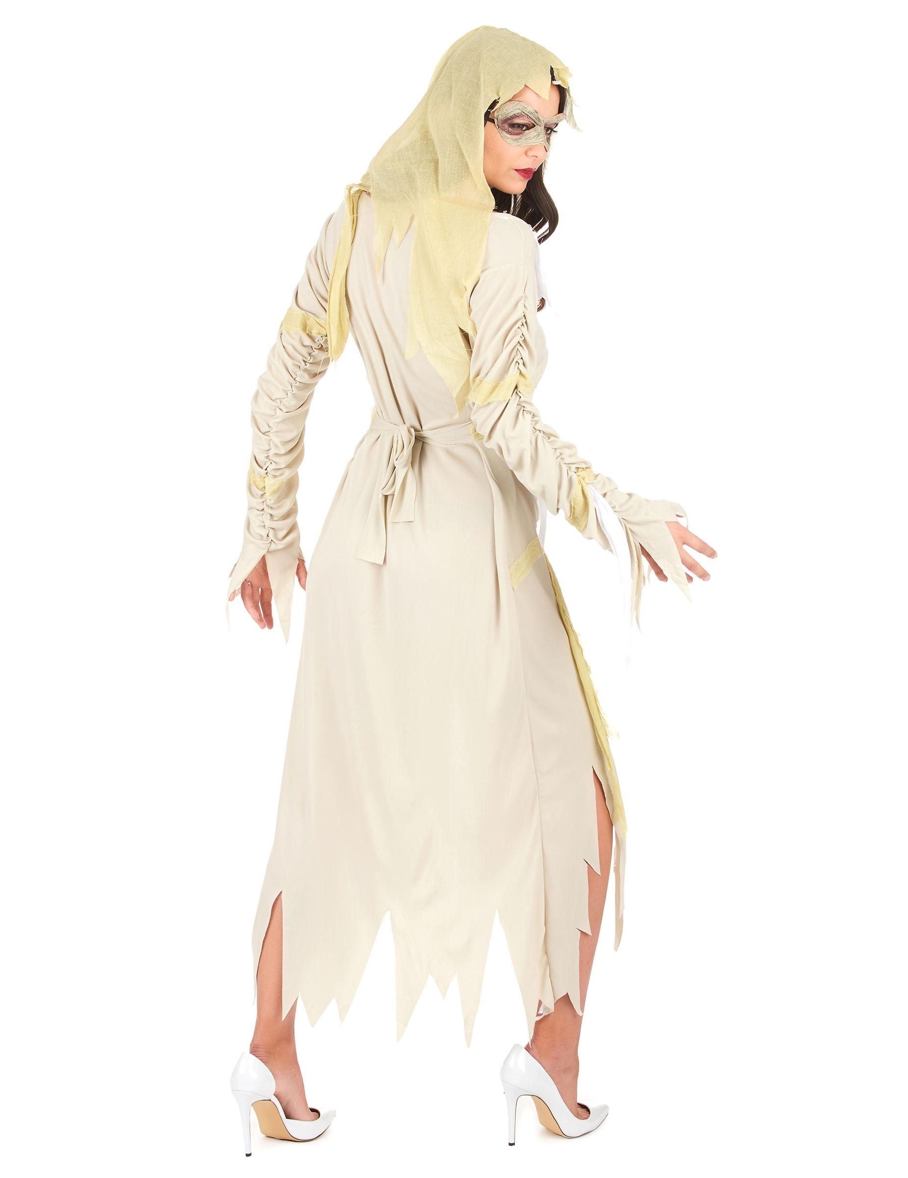 Mumie-utklädnad vuxen Halloween-2 c1eab6bf175bc