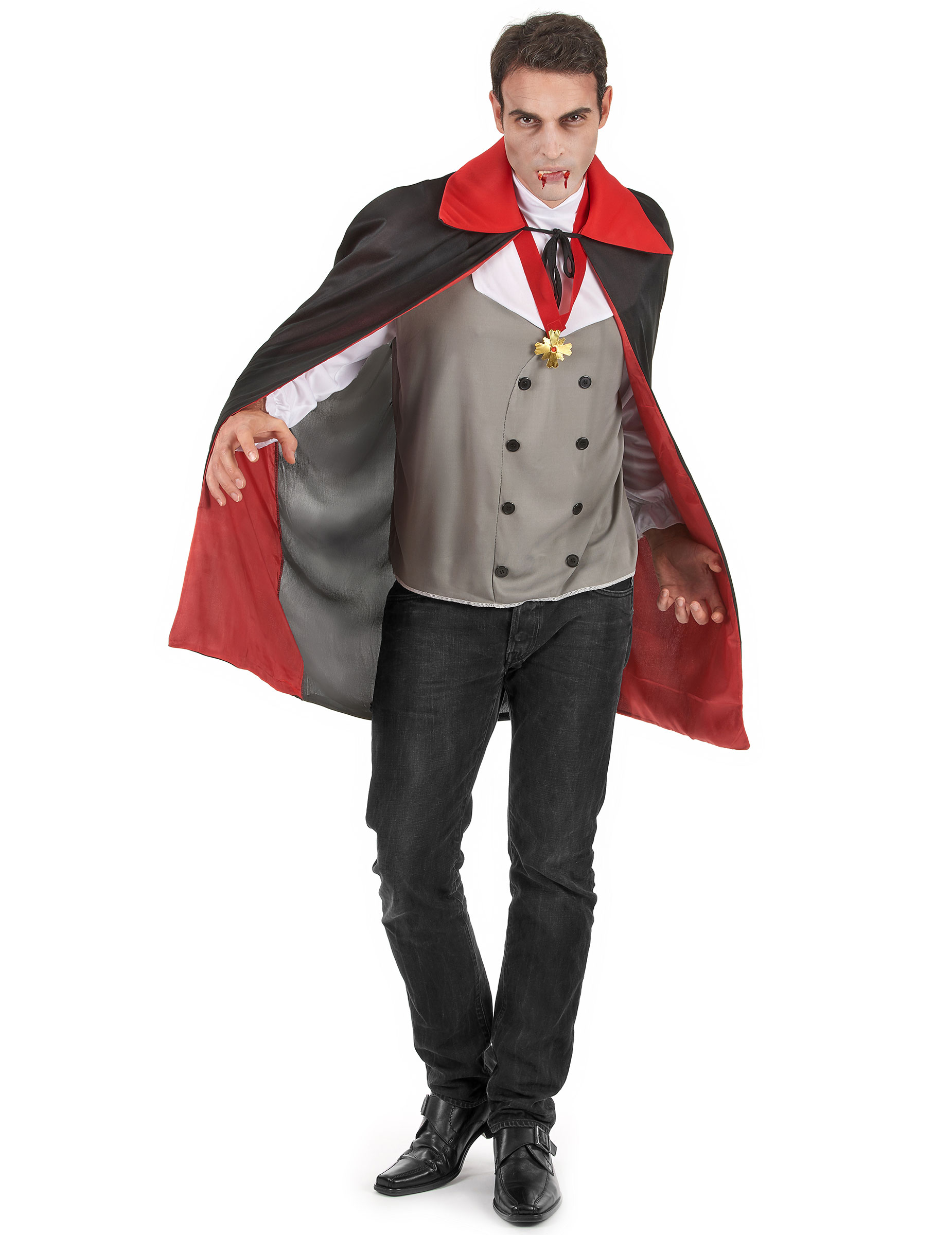 Vampyrkostym - Kläder till Halloween för vuxna 9c0fdeb502bf8