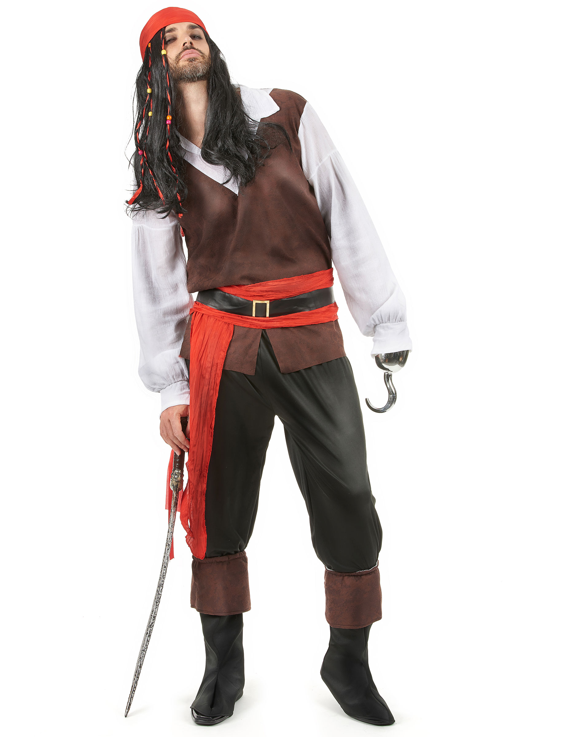 Roland Rom - Piratkläder för vuxen 02646c86493b8