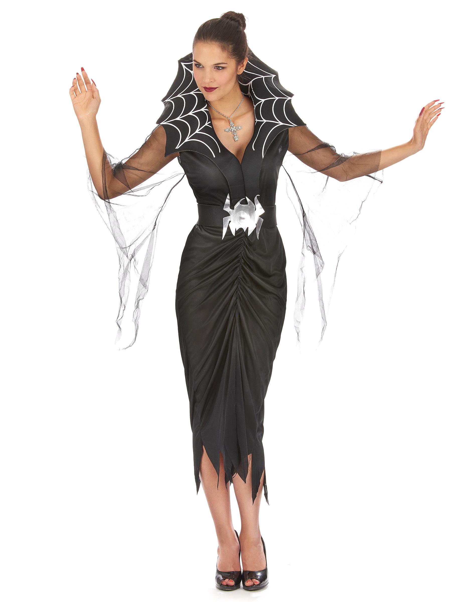 Spindelkvinna - Dräkt för vuxna till Halloween e87eddbea3c8b