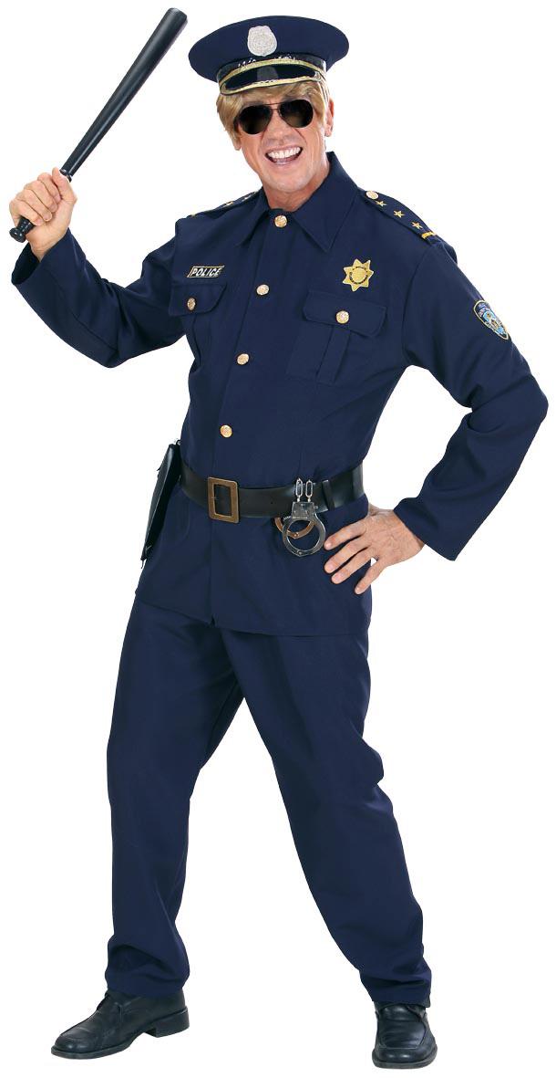 Polis-utklädnad för vuxna till maskeraden 70f4a1a7992f8