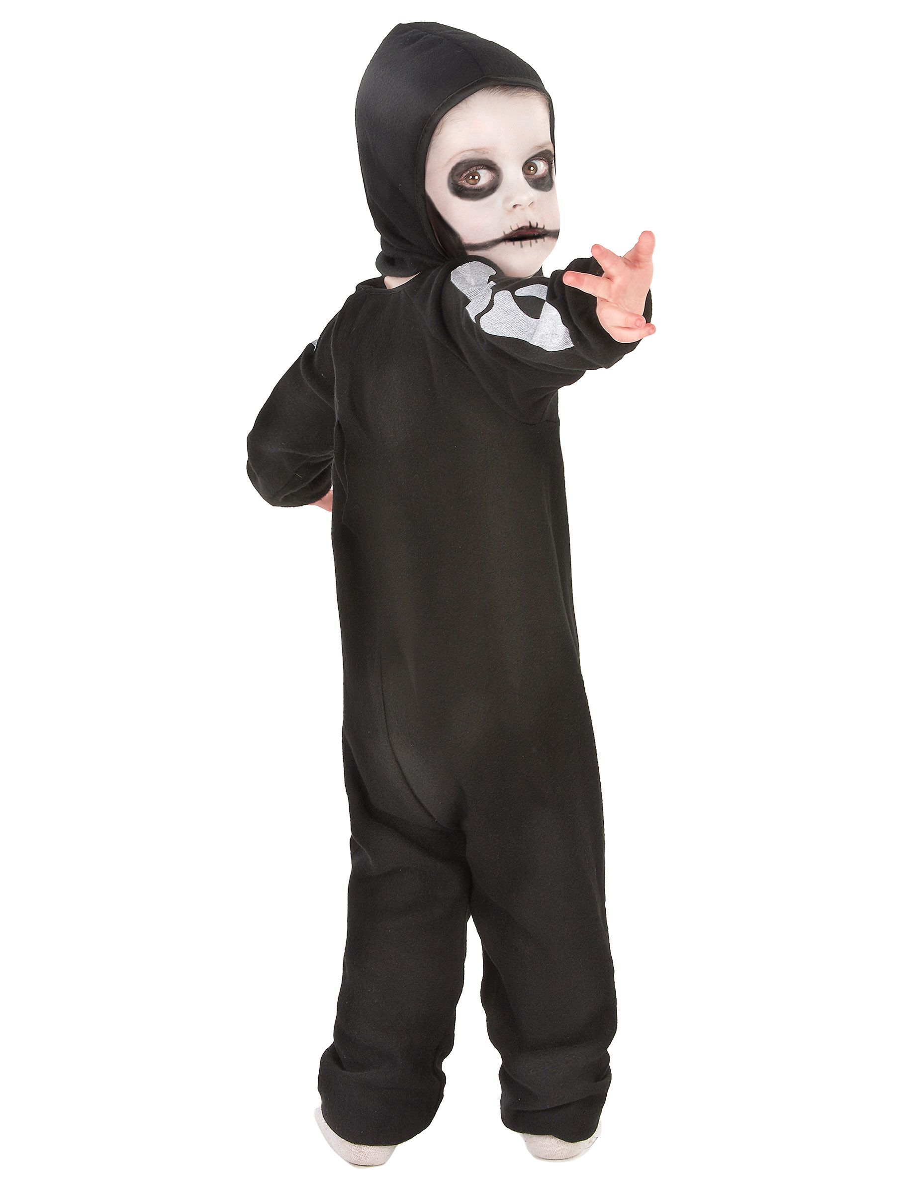 Skräckinjagande litet skelett - Halloweenkostymer för barn-2 bf8f626d69642