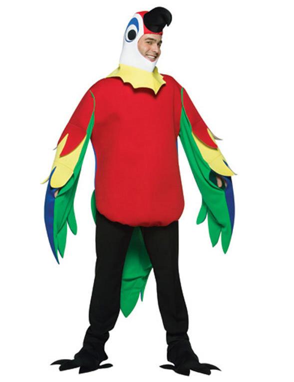 Papegoja - utklädnad vuxen 2d7186e8b3c3e