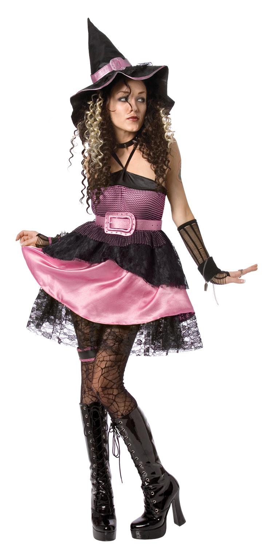 Tjusig häxdräkt för vuxna till Halloween eller Påsk 90964732d5e92