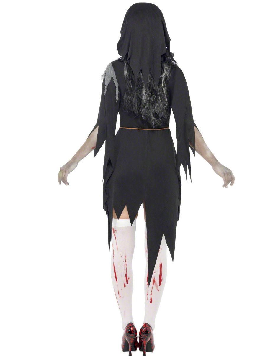 Zombienunna - utklädnad vuxen Halloween-2 fcf6fa2791a00