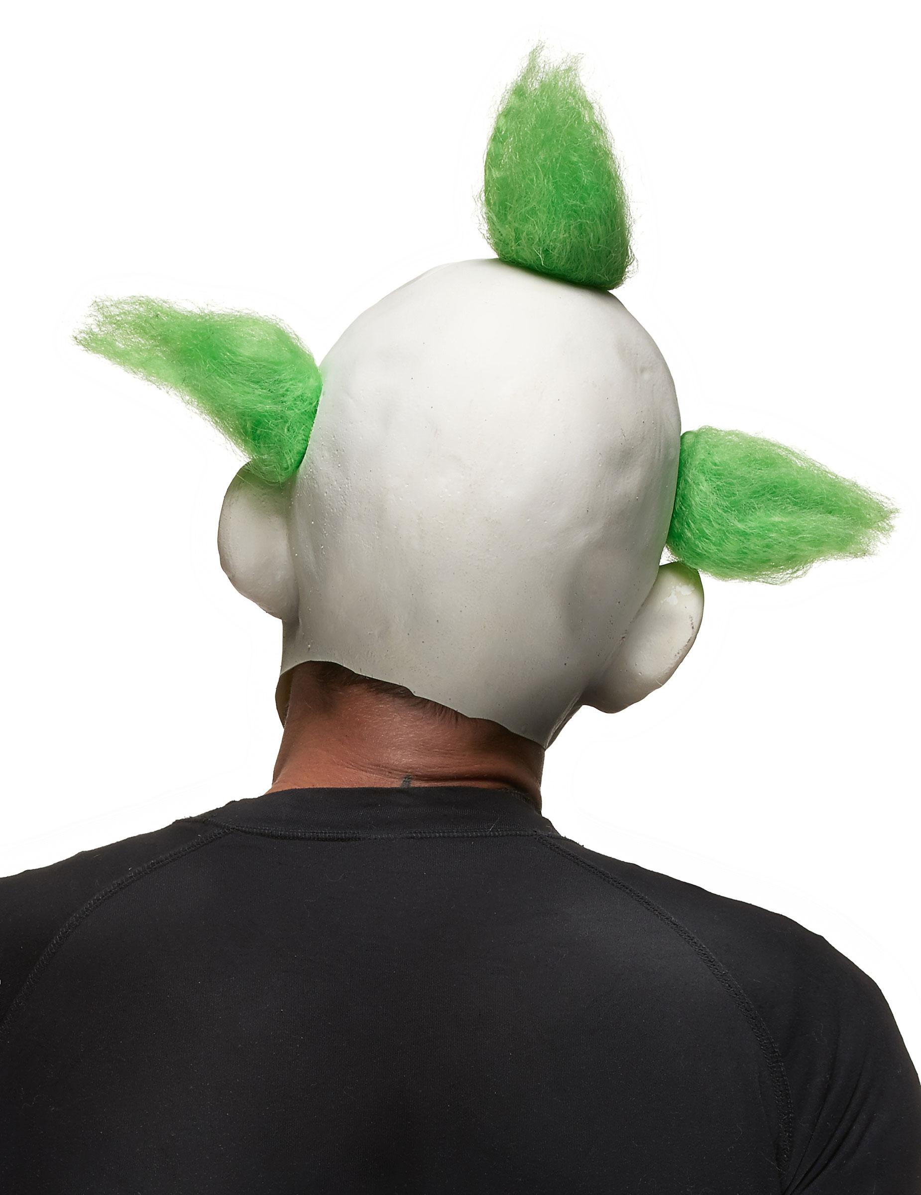Skrämmande clownmask Halloween vuxen-1 c99c3ed570ebb