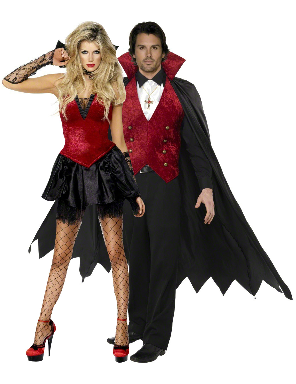 Dracula Par - Halloweendräkt för par d37c4b1ed4dde
