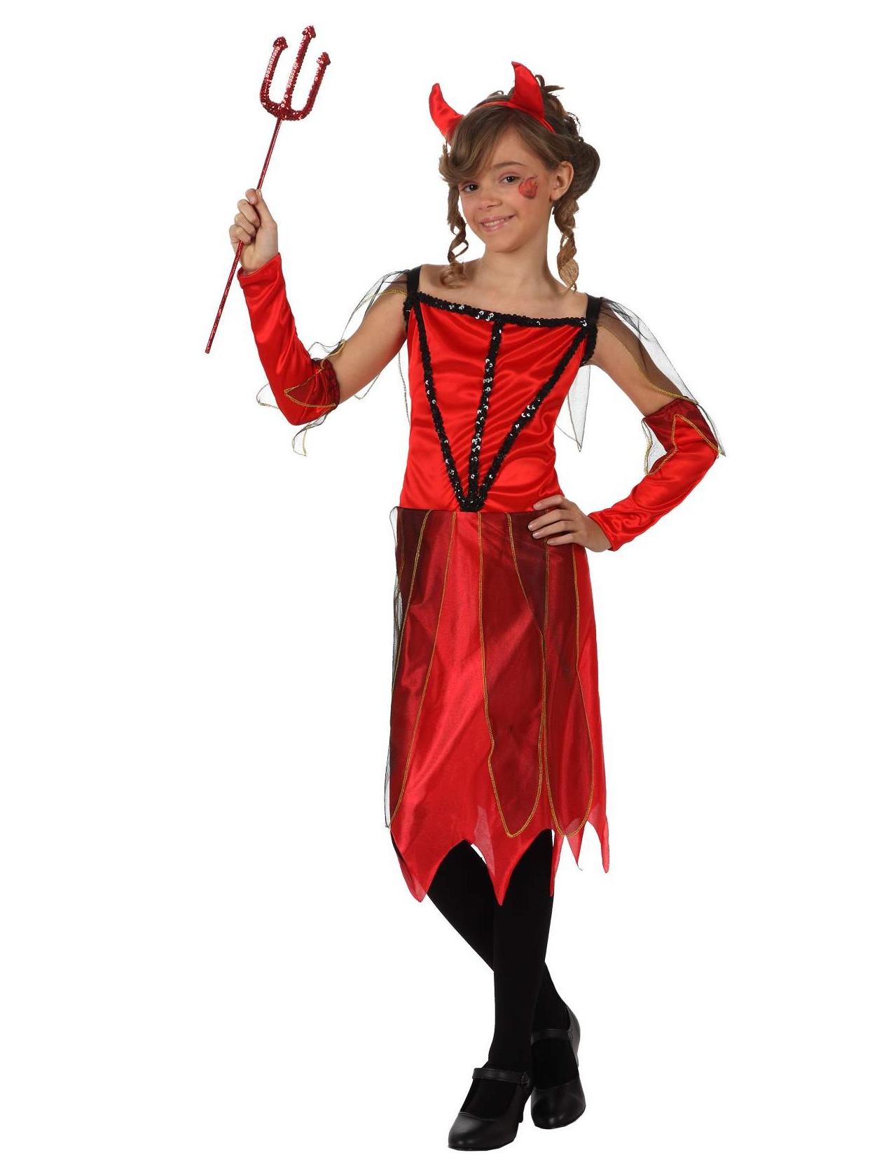 Djävulsdräkt för barn till Halloween c06a246941d6e