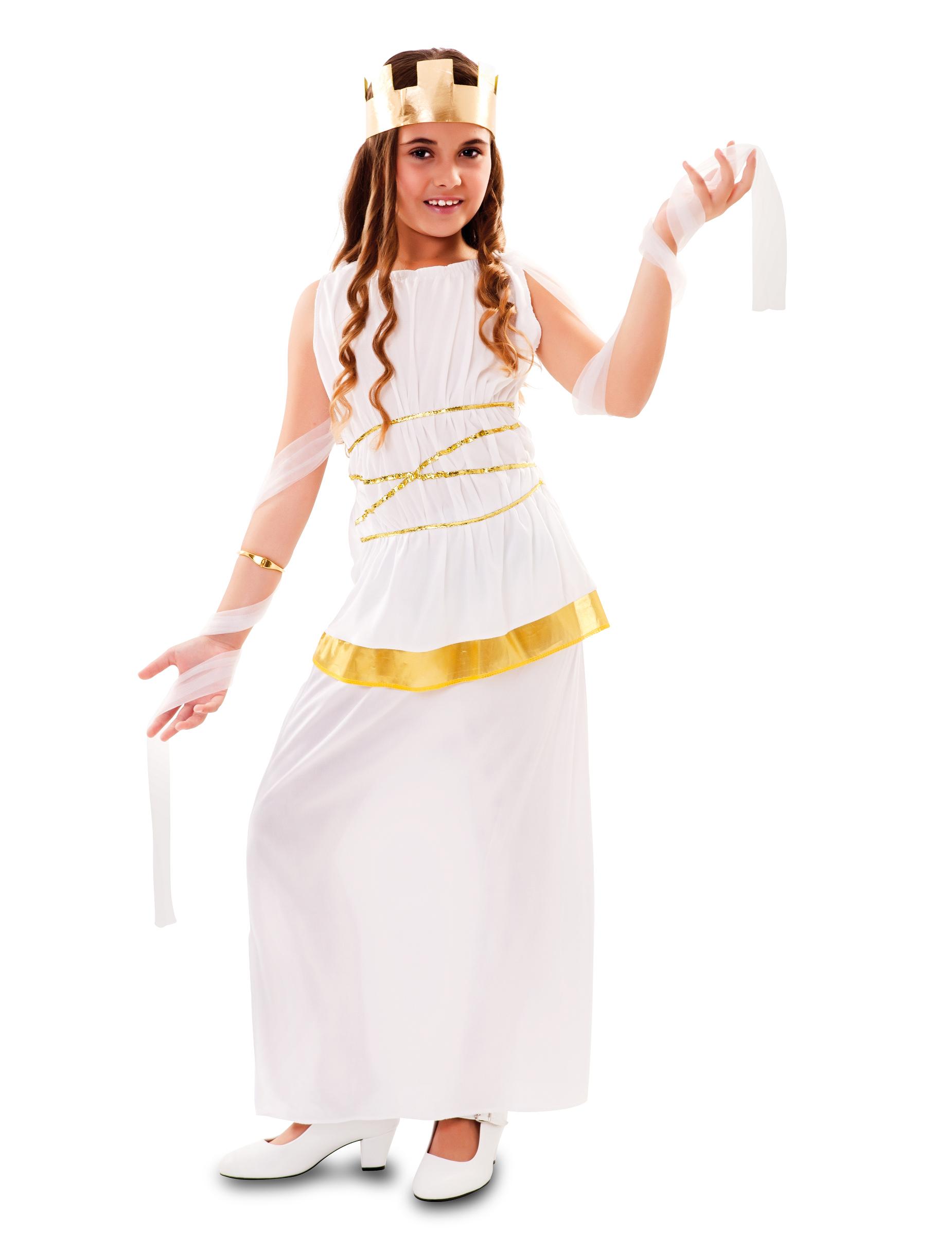 grekisk gudinna klänning