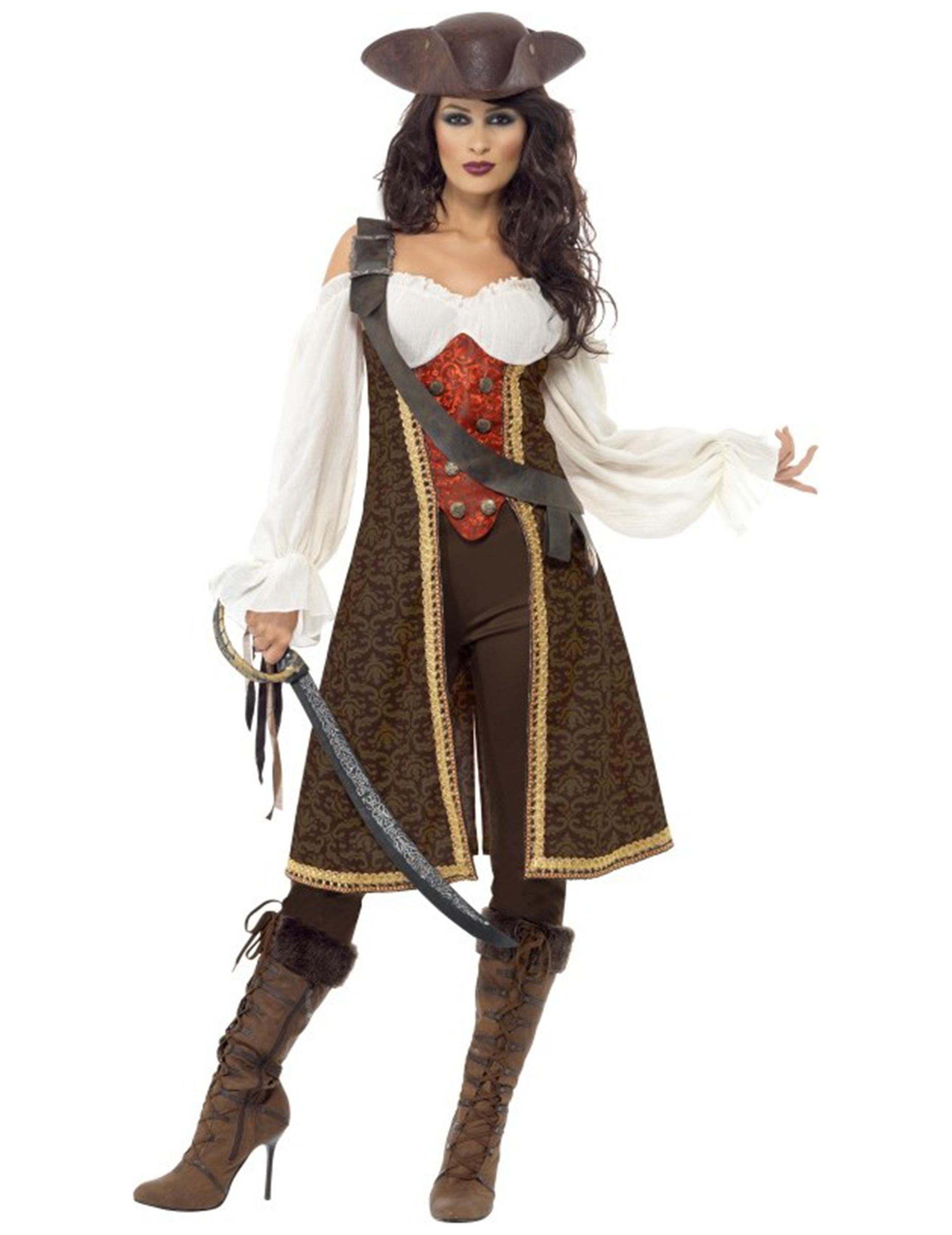 pirat utklädnad vuxen