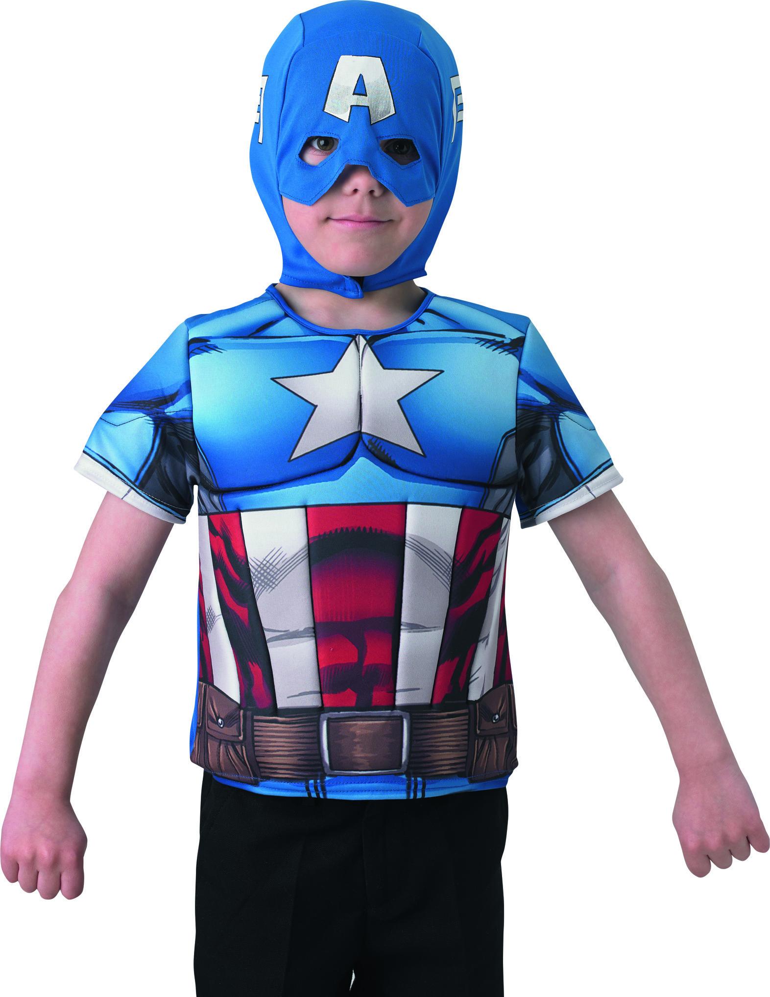 a86dfe669a02 Skjortbröst Captain America The Winter Soldier™ barn, köp ...