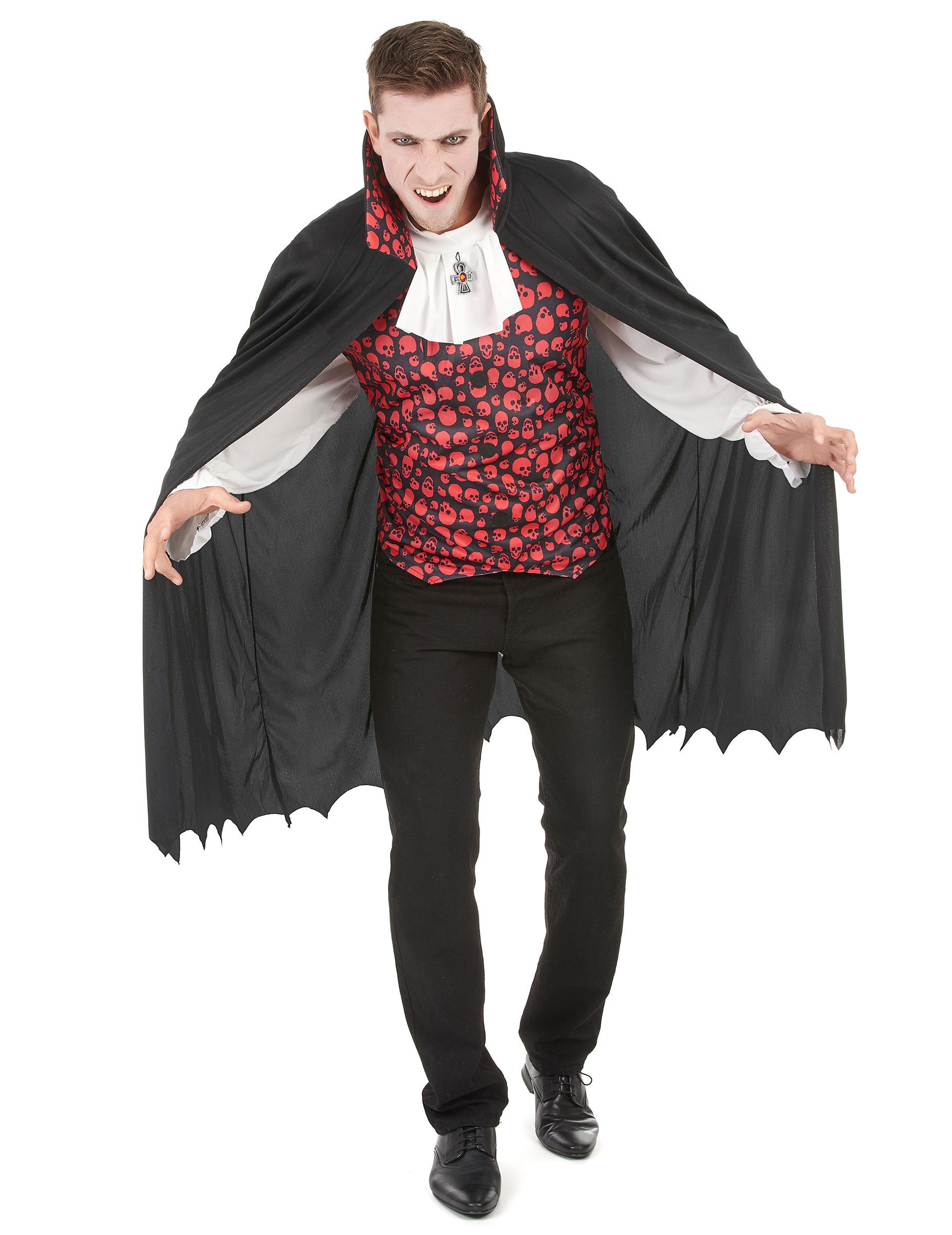Vampyrdräkt med snygg väst - Halloweenkostymer för vuxen 66173592e6e2f