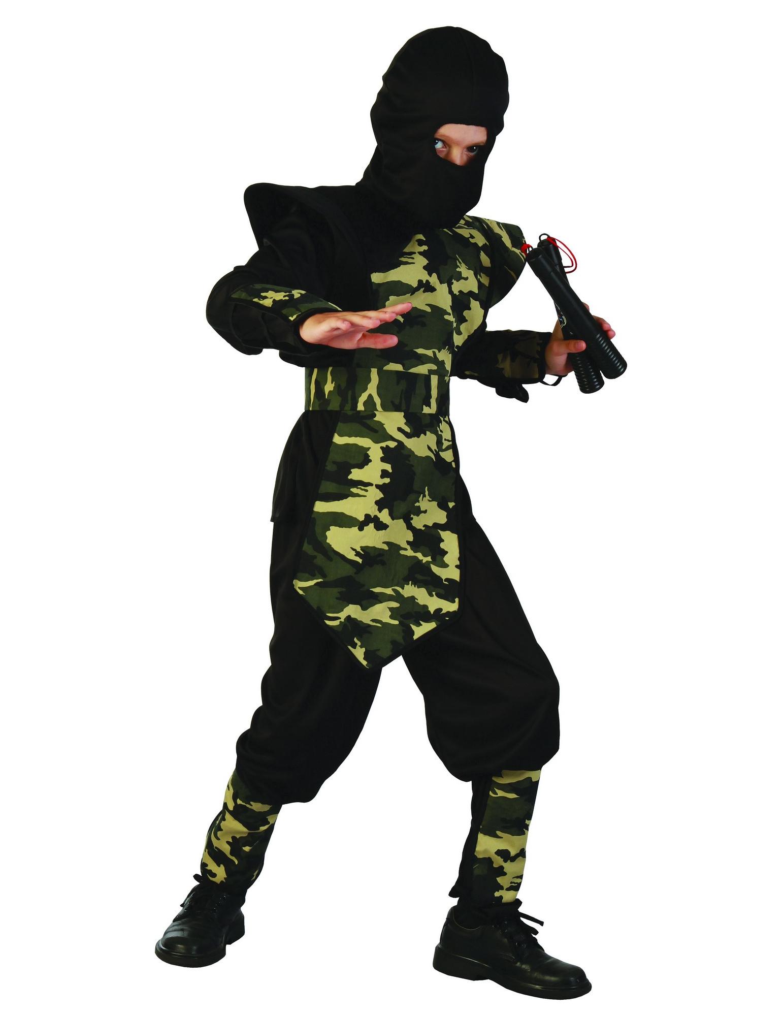 Militär ninja - Maskeraddräkt för barn f5419ce875ad1