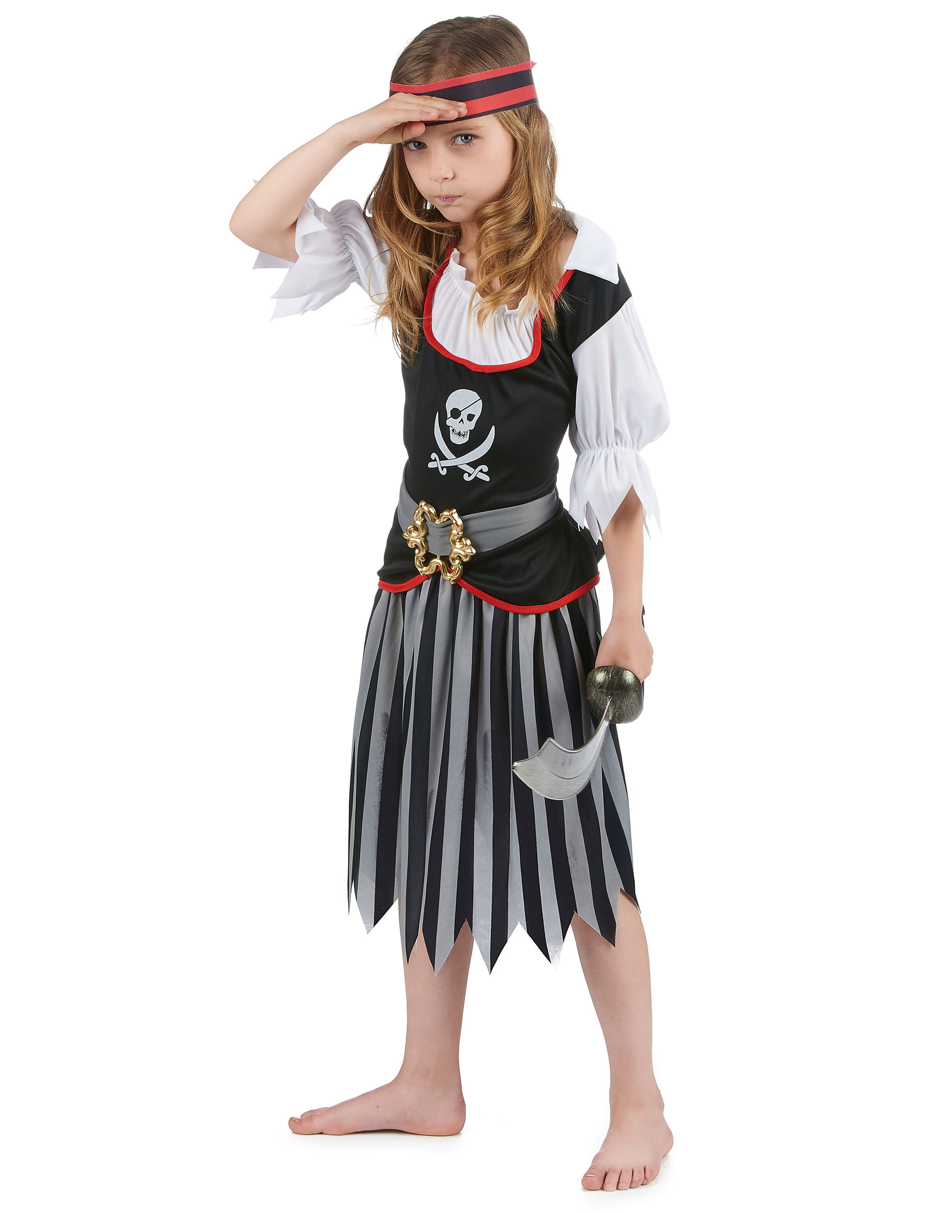 Otrevliga Olivia - Piratdräkt för barn-1 128b8b97f4a58