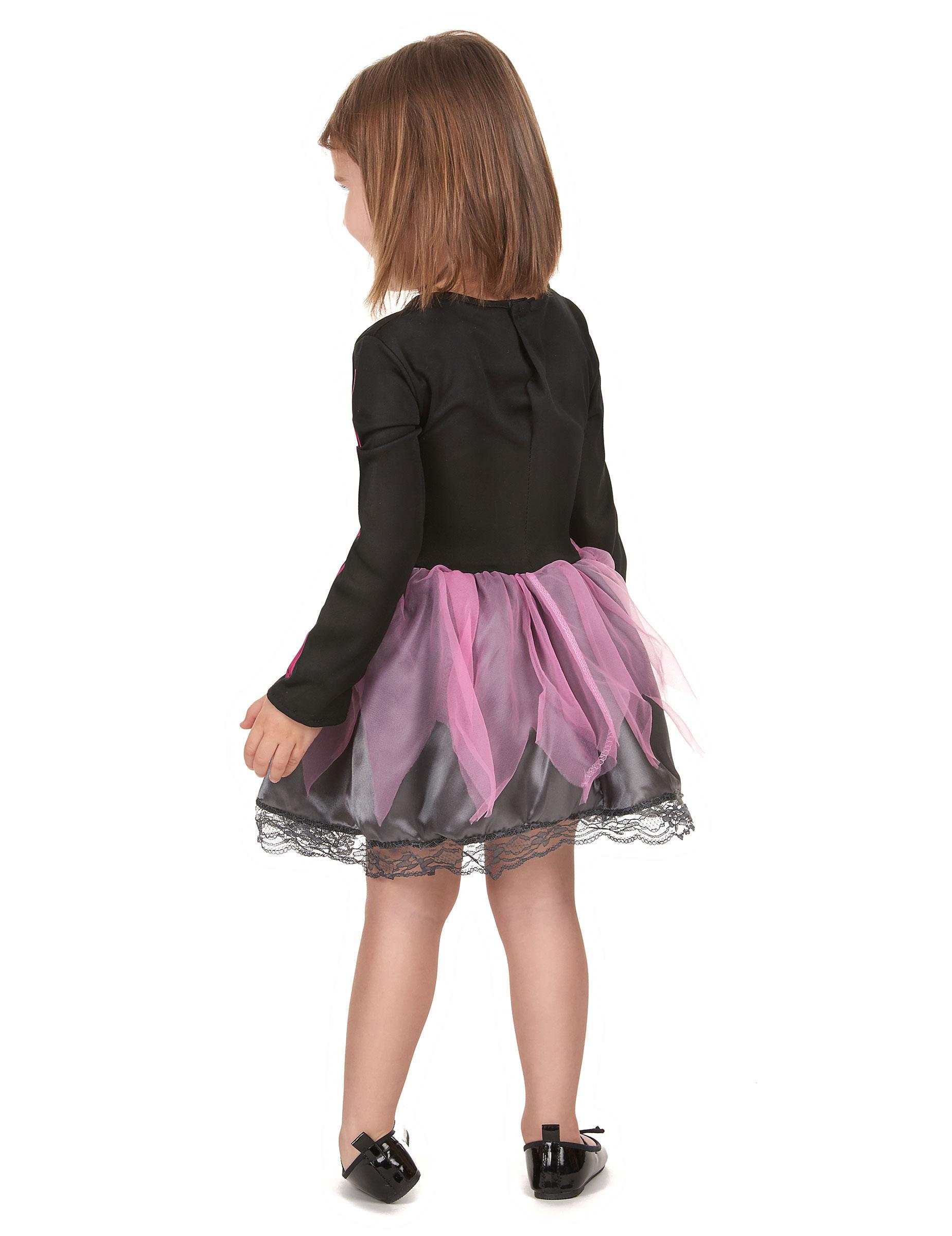 Mitt rosa skelett - Halloweenkostym för barn 1e1c626bca468