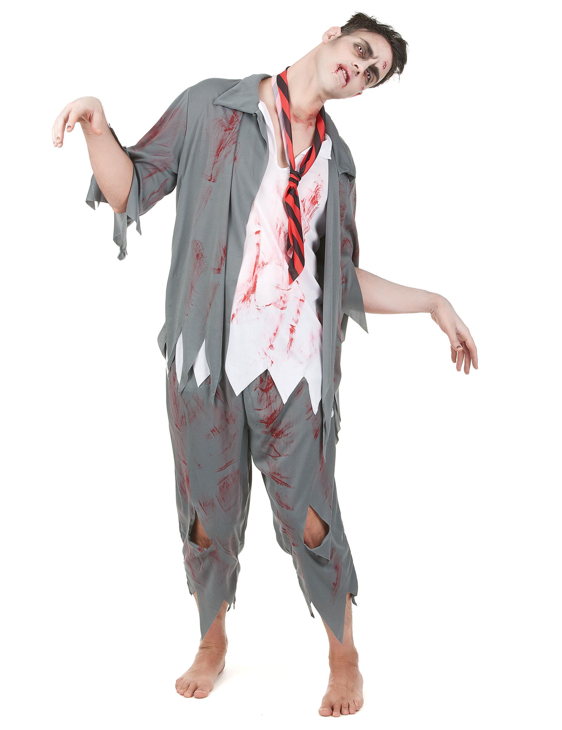 zombie dräkt vuxen