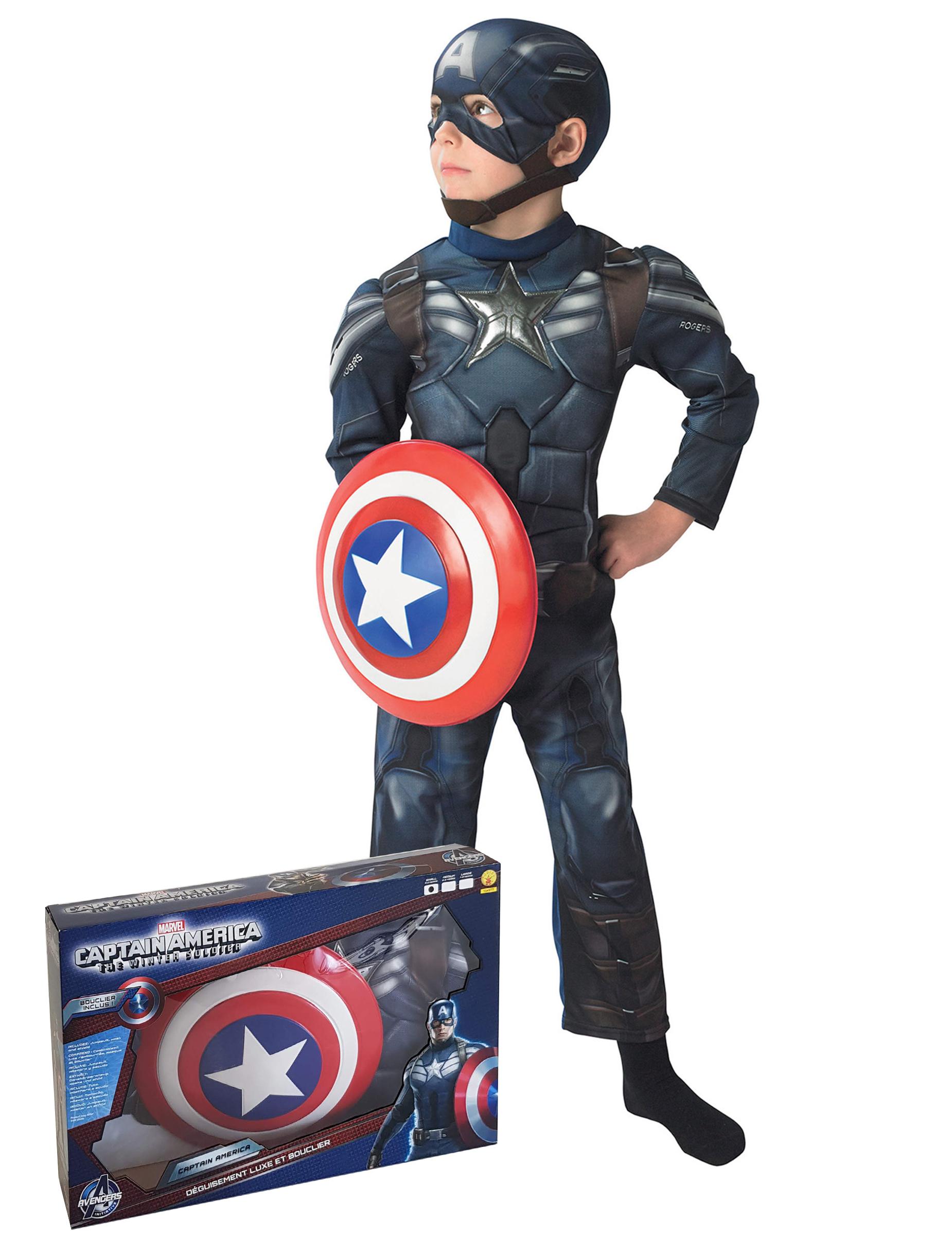 c387d402909d Captain America dräkt - The Winter Soldier™, köp Maskeradkläder för ...