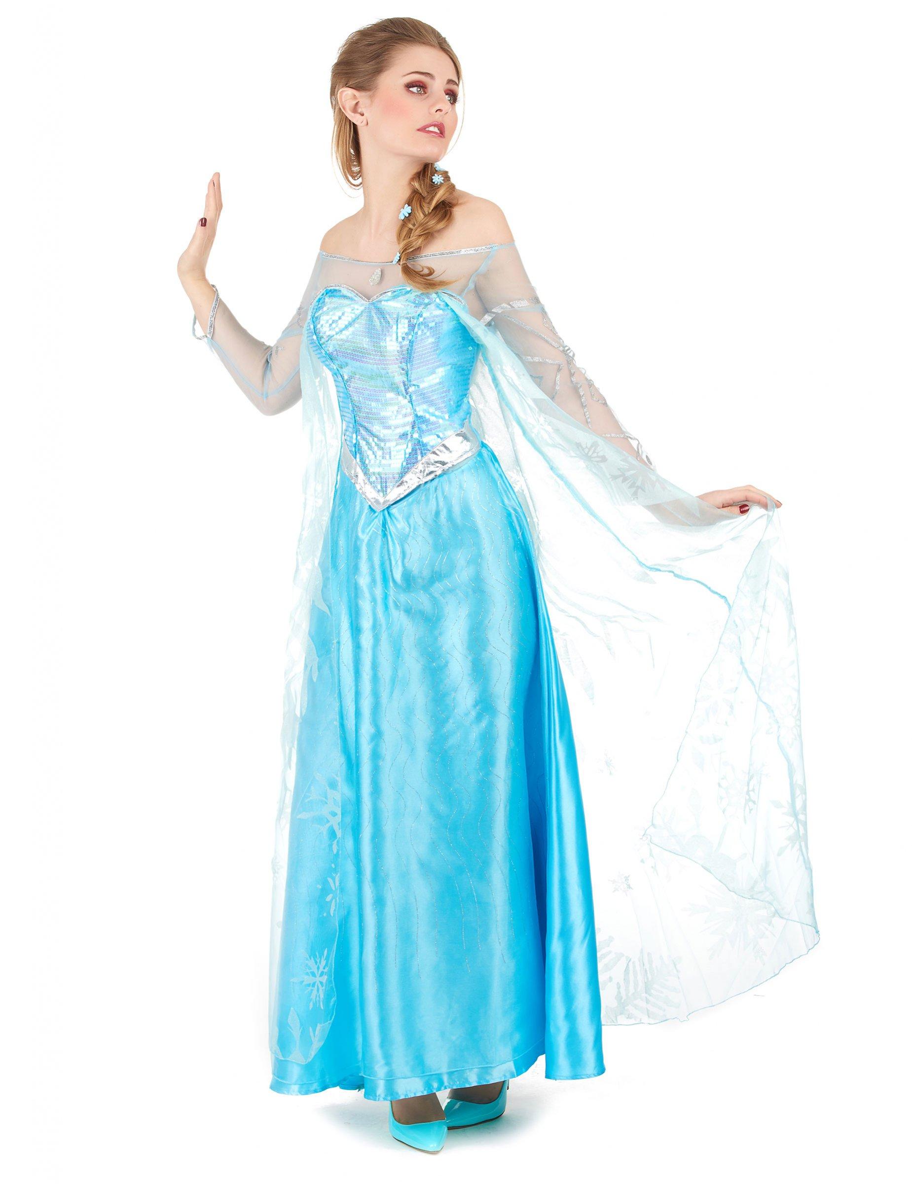 Elsa Frozen™ - utklädnad vuxen f45b97bf0b666