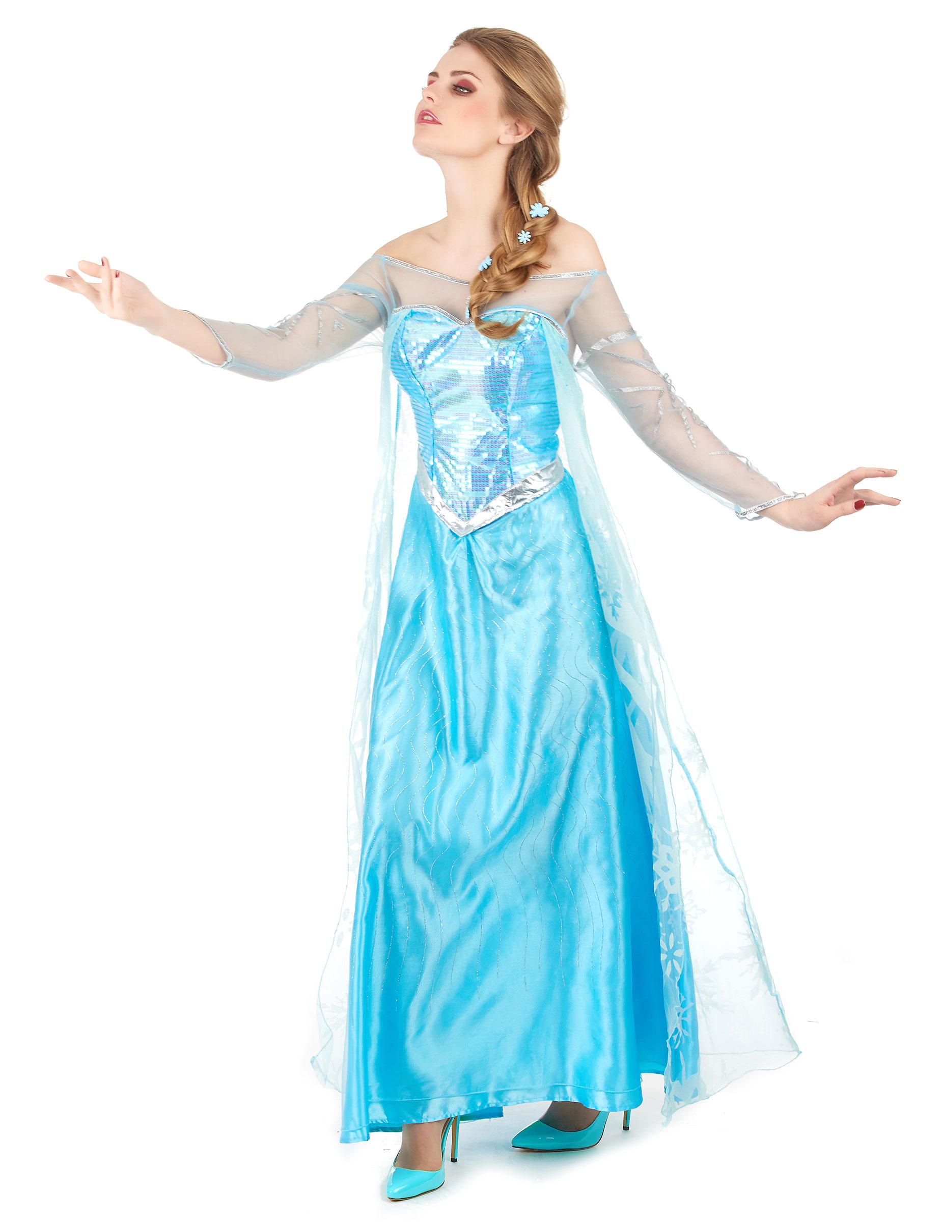 Elsa Frozen™ - utklädnad vuxen-1 71a405d1d4376