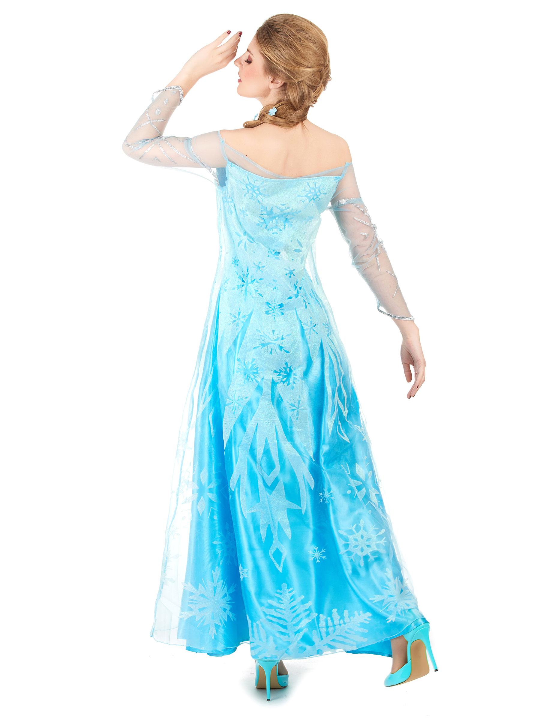 Elsa Frozen™ - utklädnad vuxen-2 b46366f058a64