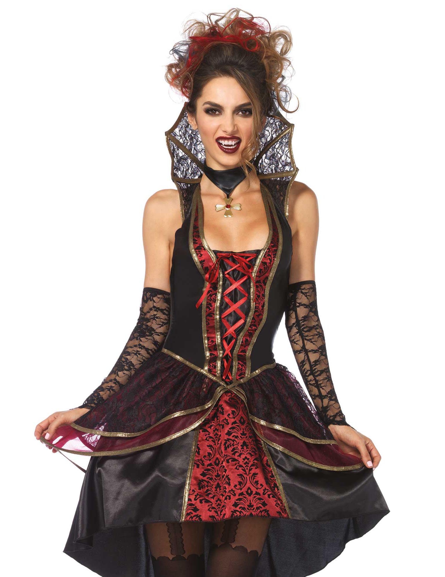 Läskig vampyr - Halloweenkostym för vuxna-1 1b4812041ccd1
