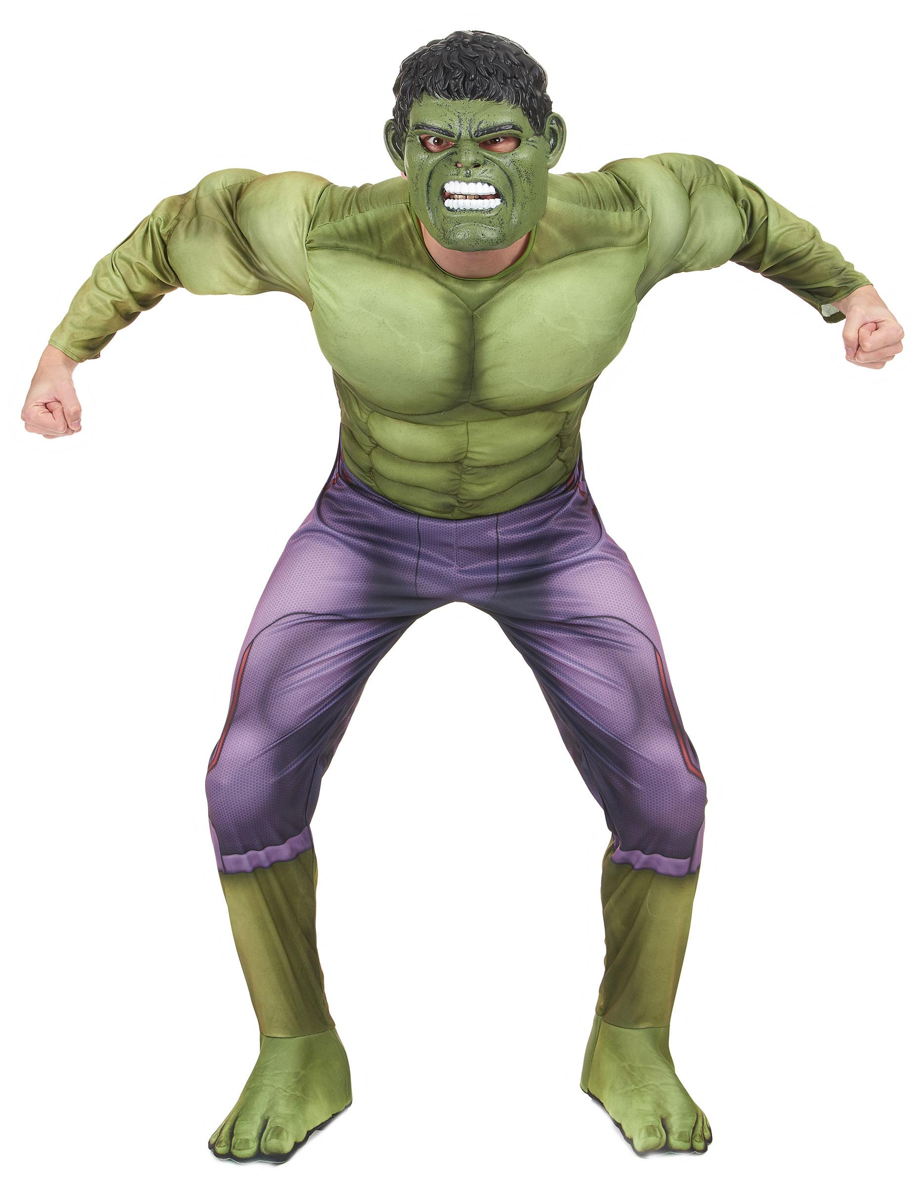 Maskeraddräkt vuxen lyx Hulken™ movie 2 7848b9f6e79ab