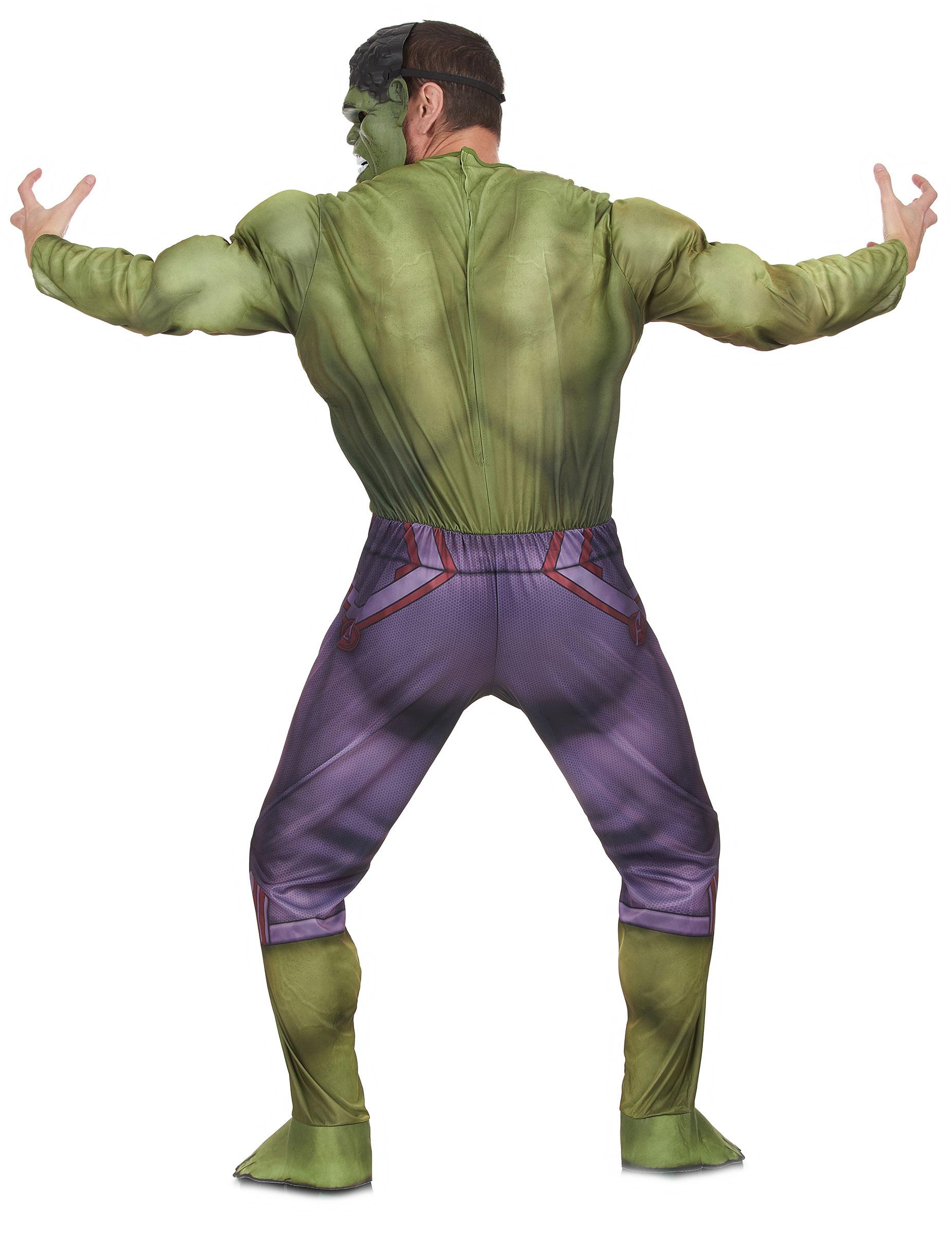 Maskeraddräkt vuxen lyx Hulken™ movie 2-2 bff5ba4259817