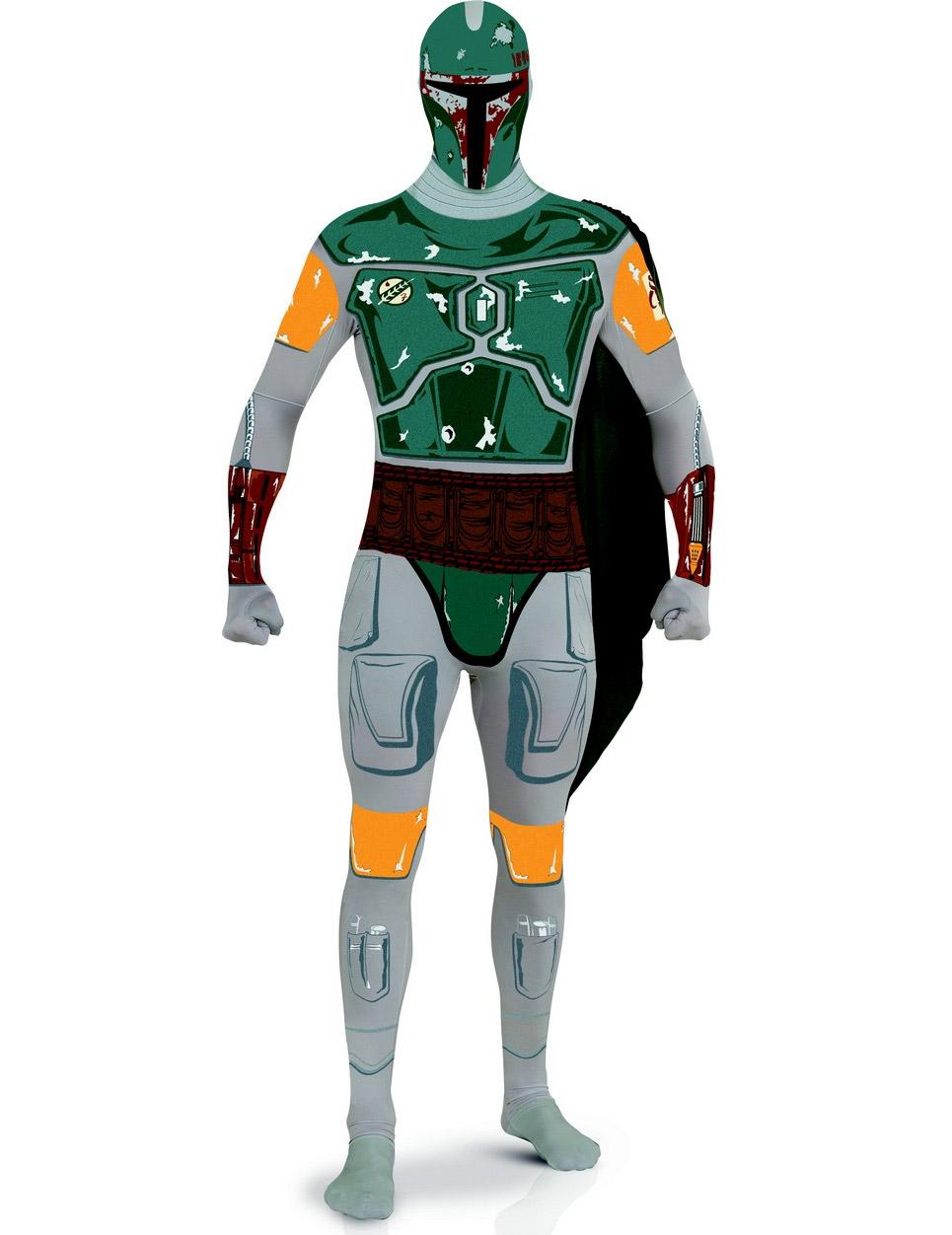 Boba Fett™ second skin dräkt för vuxna från Star Wars™ 826c787e3cc71