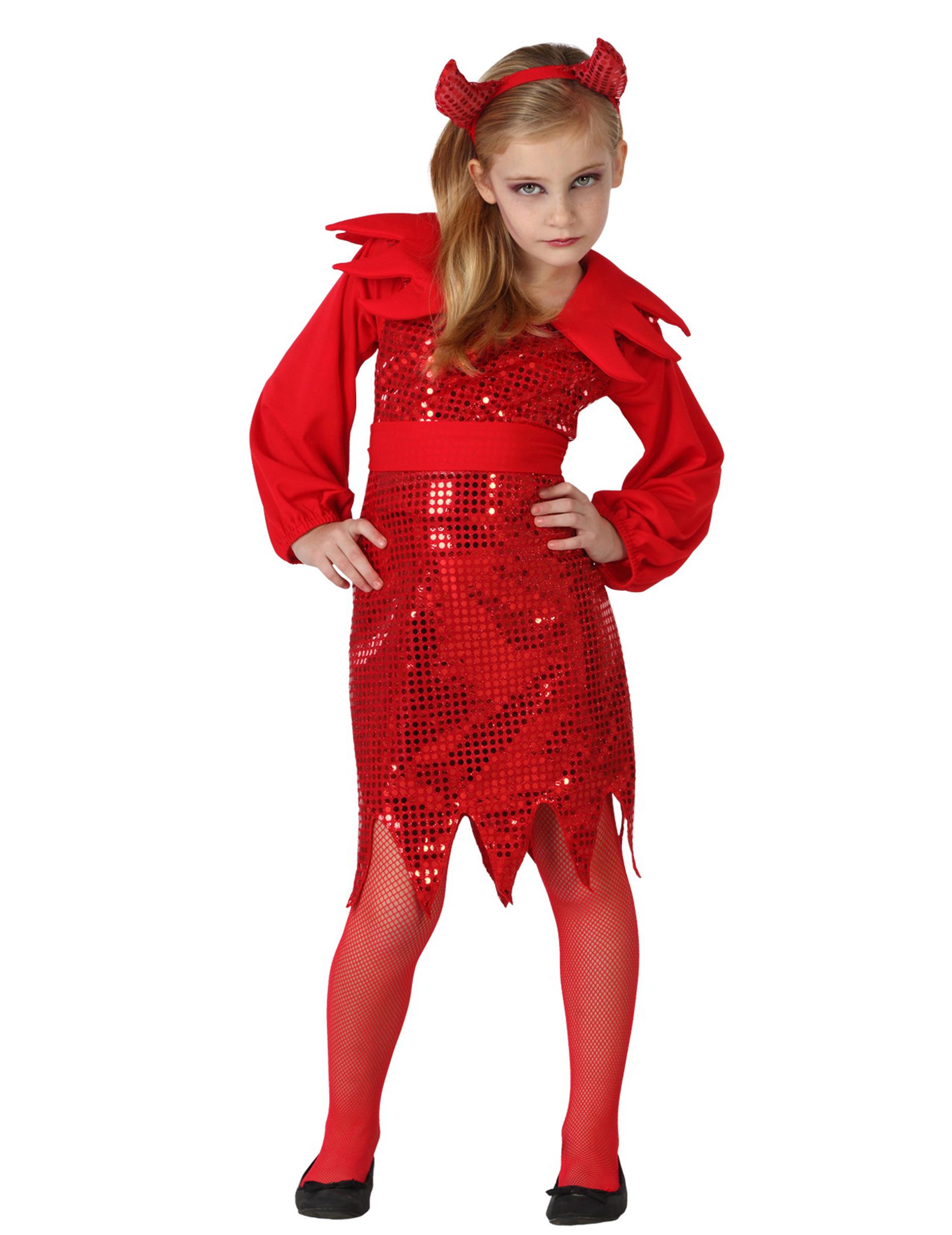 Maskeraddräkt djävul Halloween barn f5bd16c23132c