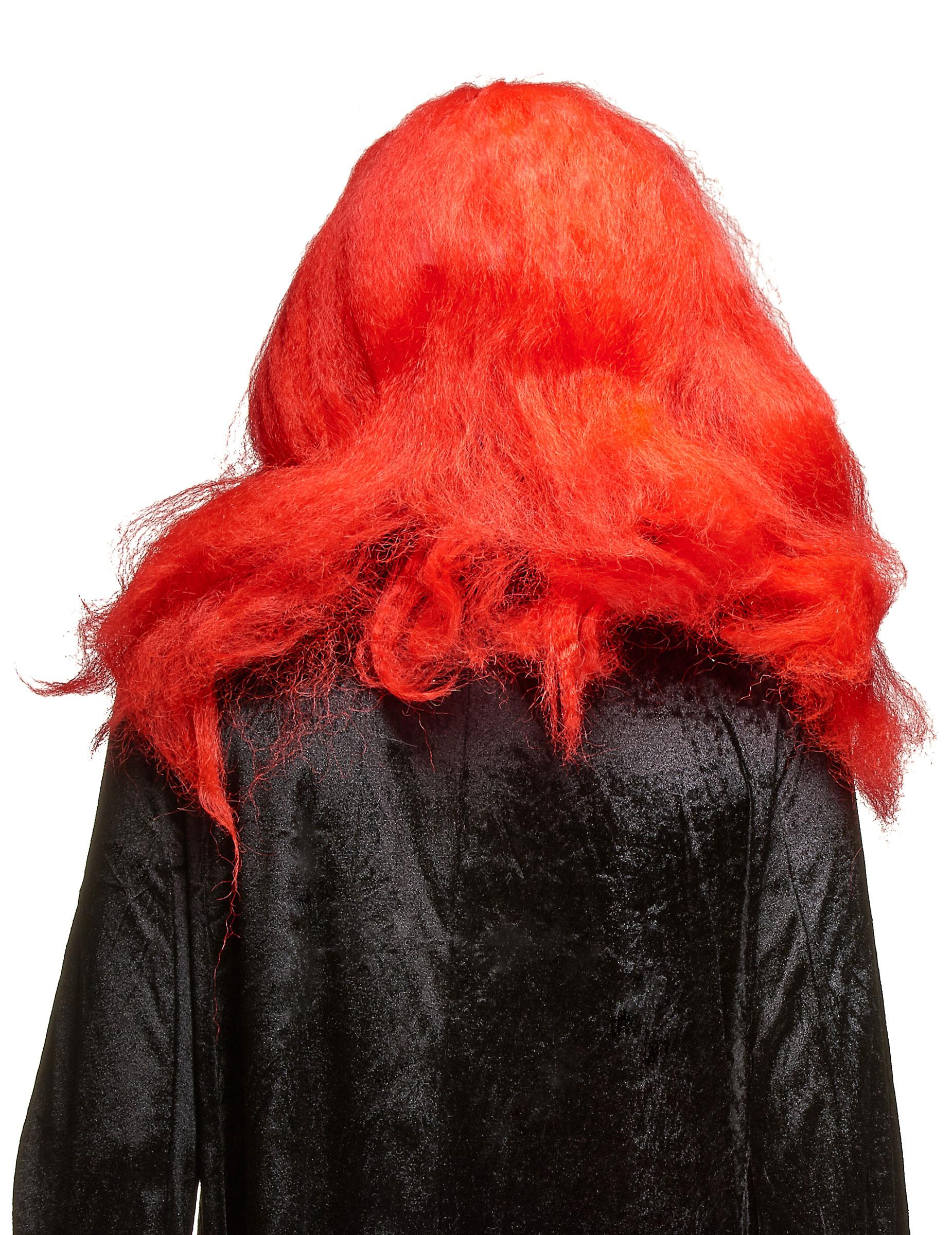 Skrämmande Clownmask i Latex Halloween Vuxen-1 aa54ea87776b6