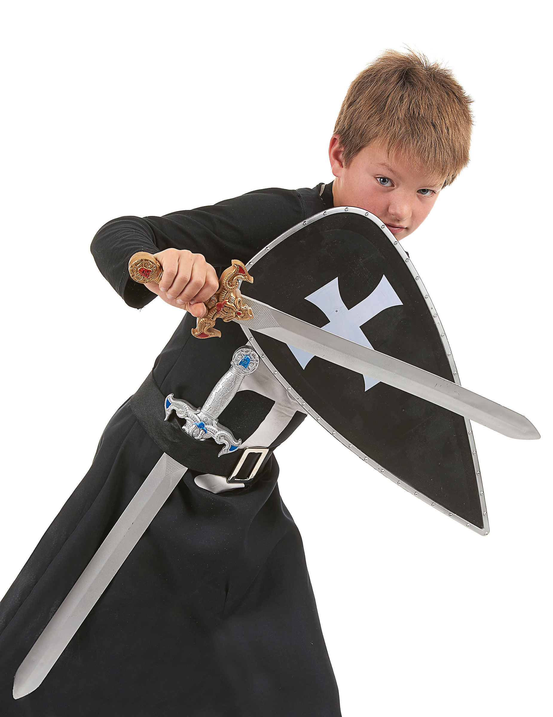 Svarta riddaren - Utklädnad och tillbehör för barn bb0f86e2de524