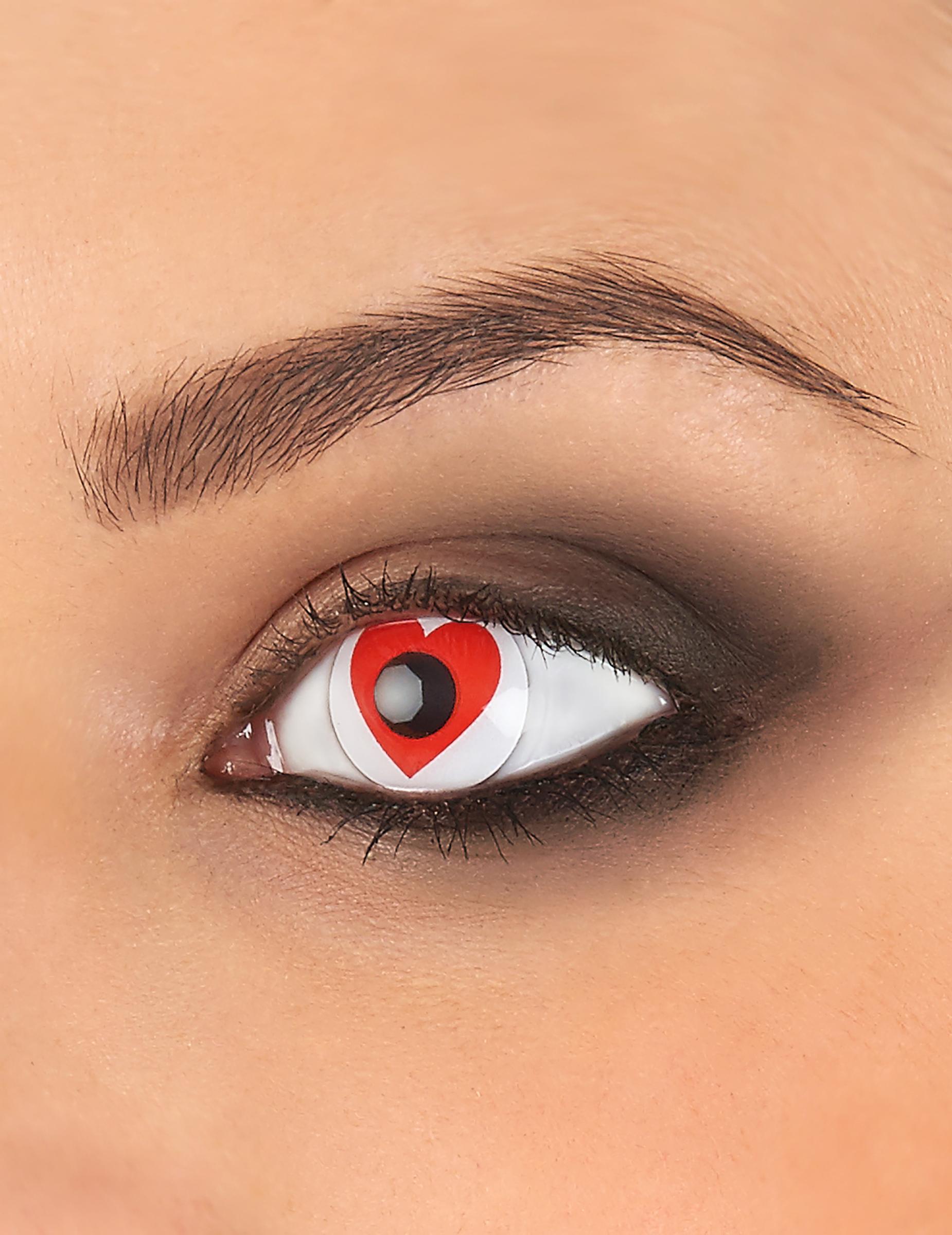 rött öga linser