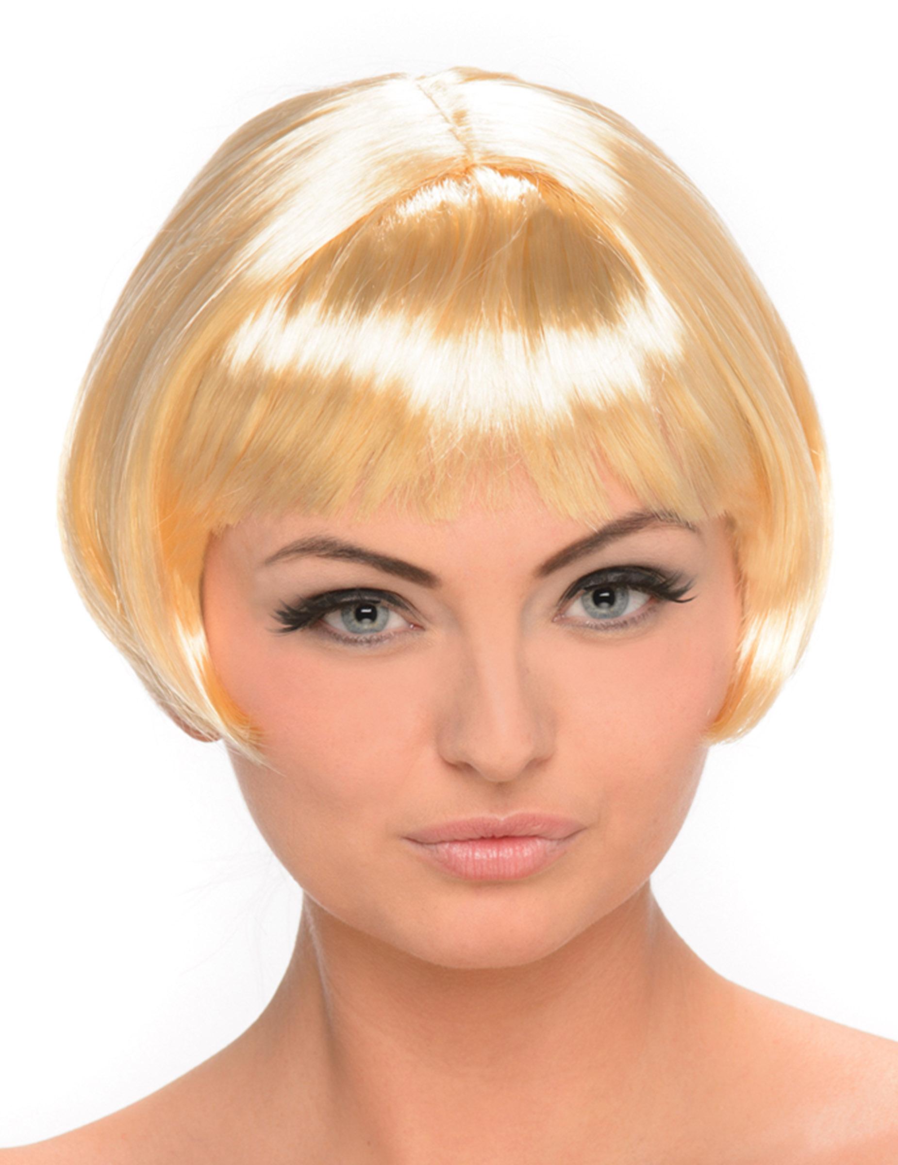 Blond Kort Bobfrisyr Peruk 6b528eb9c7a2a