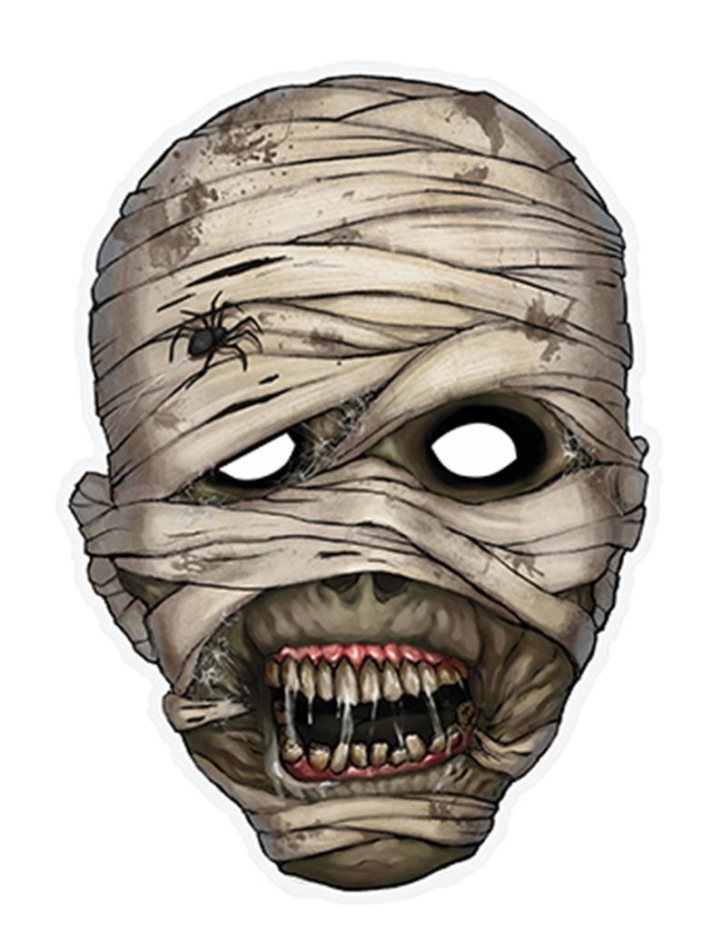 Mumie - Pappersmask till Halloween f3c17578c6f4d