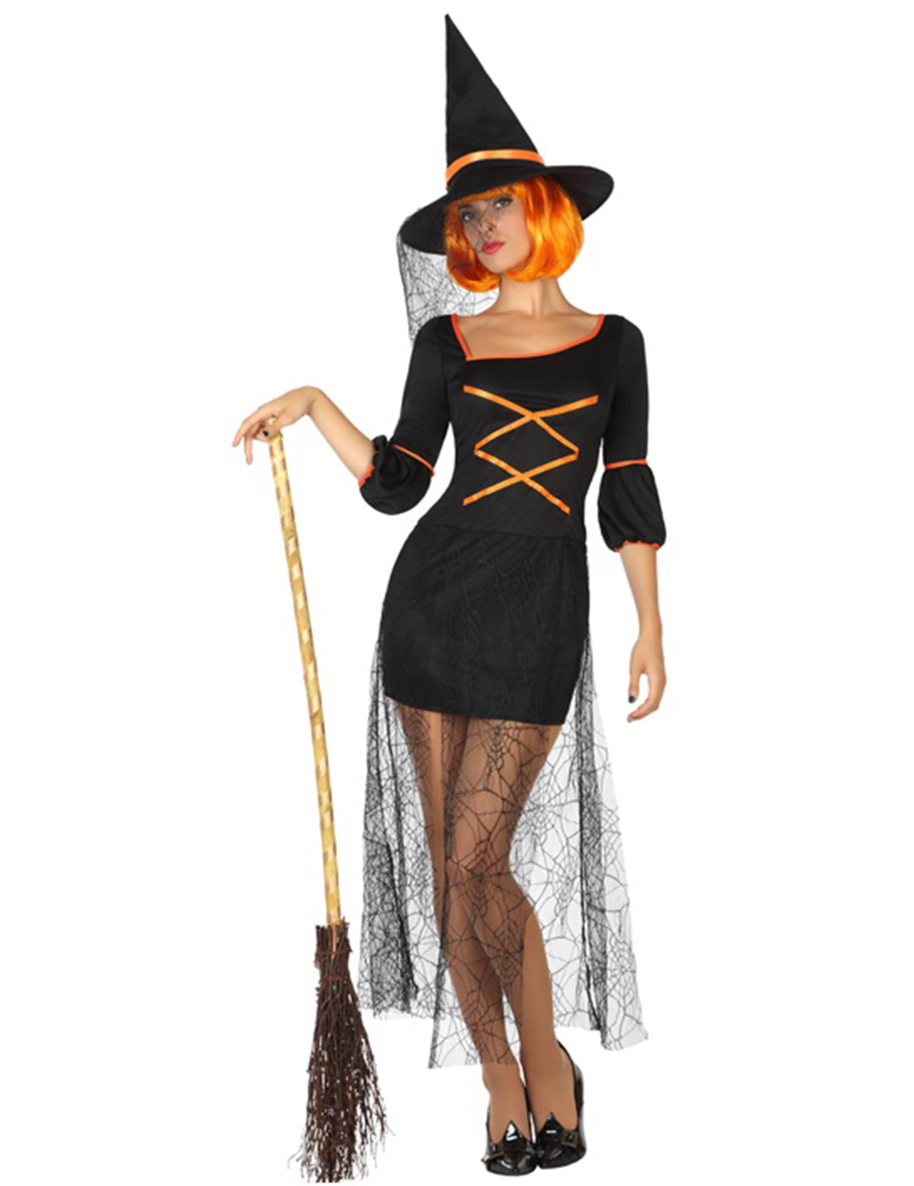 Maskeradkläder för vuxna Halloween Magi och skräck Häxor S ... f45a7e53fe791
