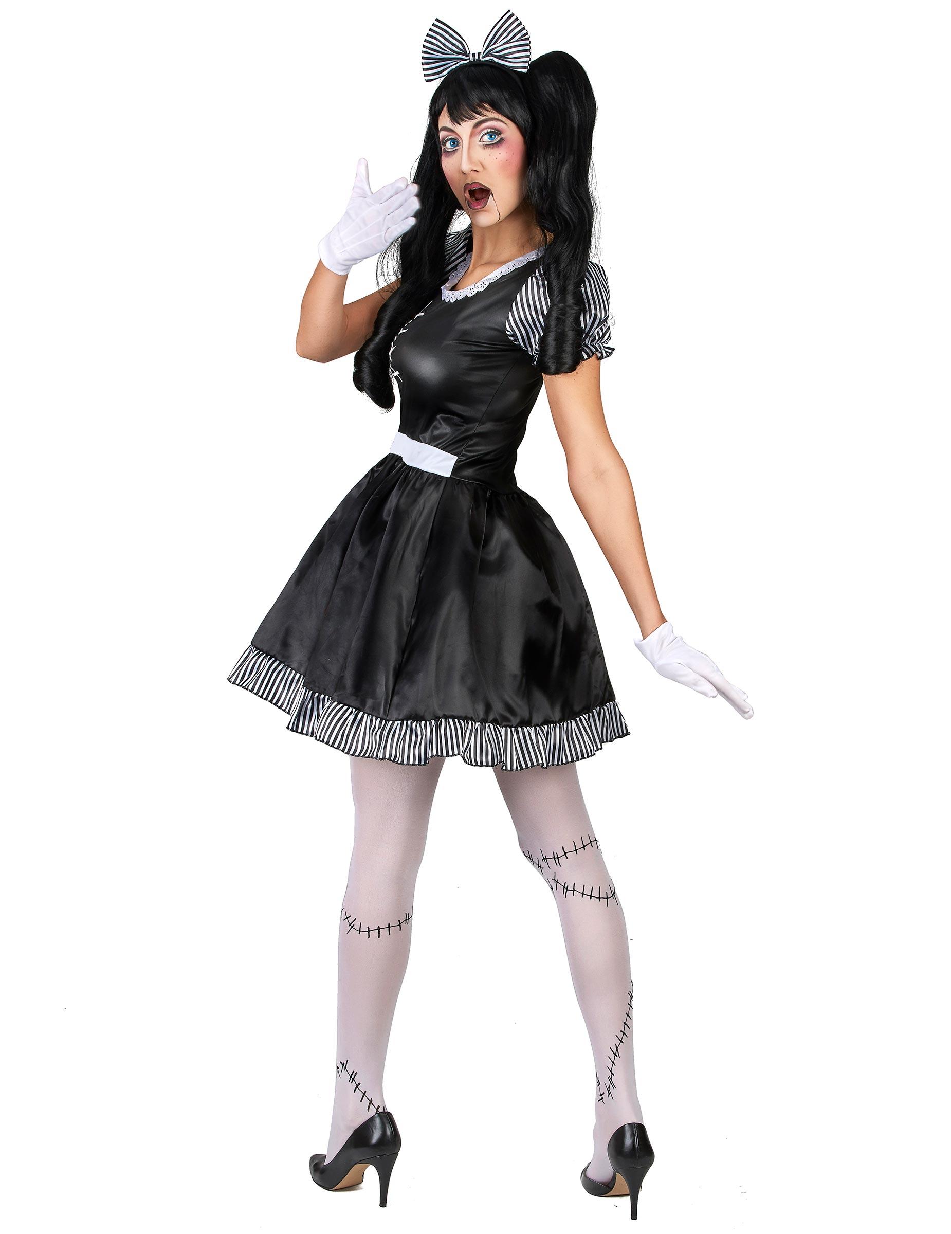 halloween kostym docka