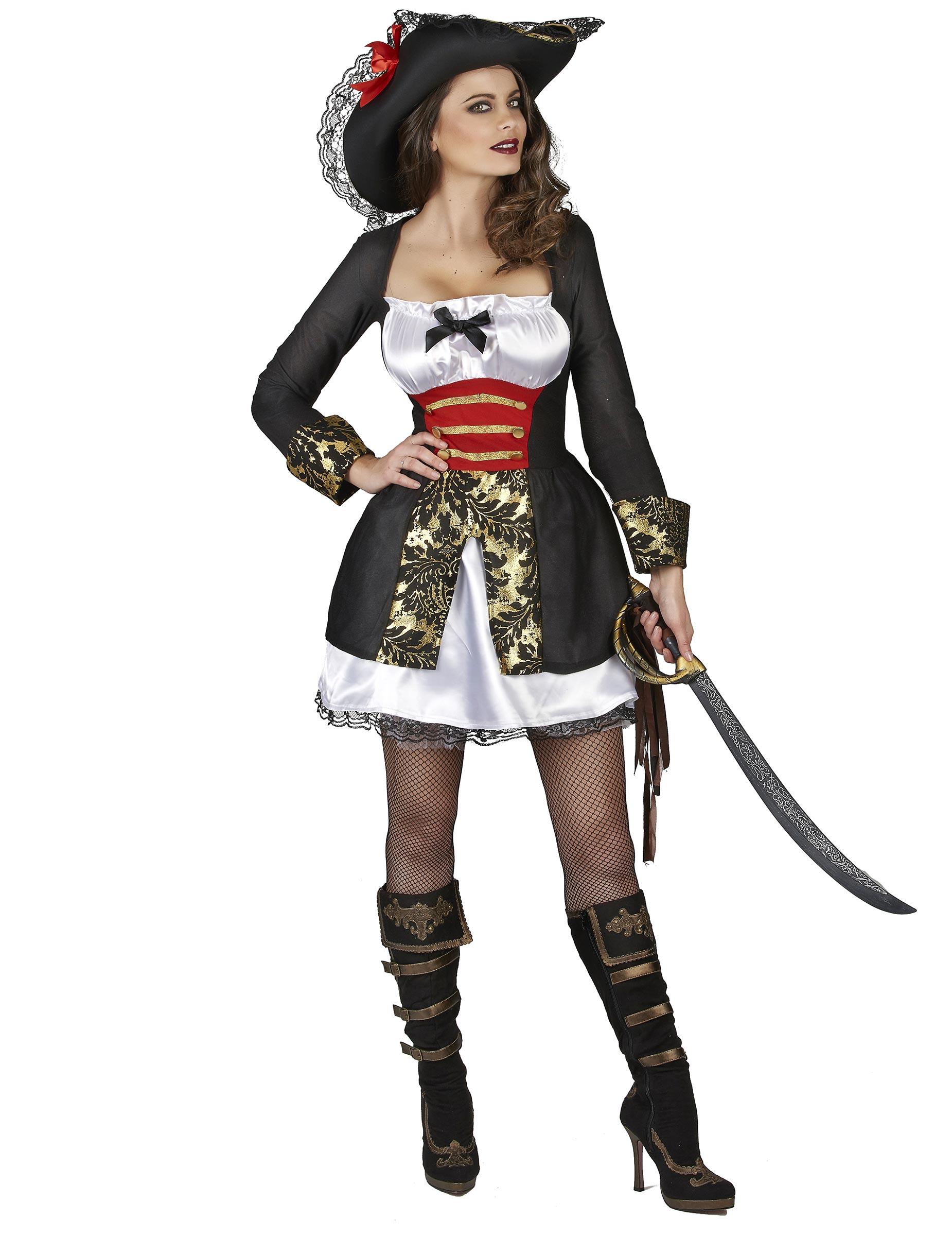 Kostym som sexig sjörövare dam-1 014b812d17355