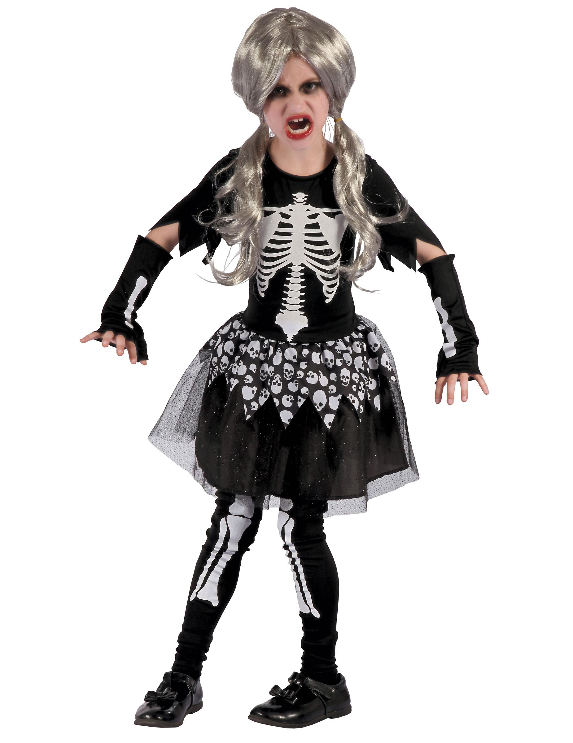 Ruskigt skelett - Halloweendräkt för barn 898d90cc28378