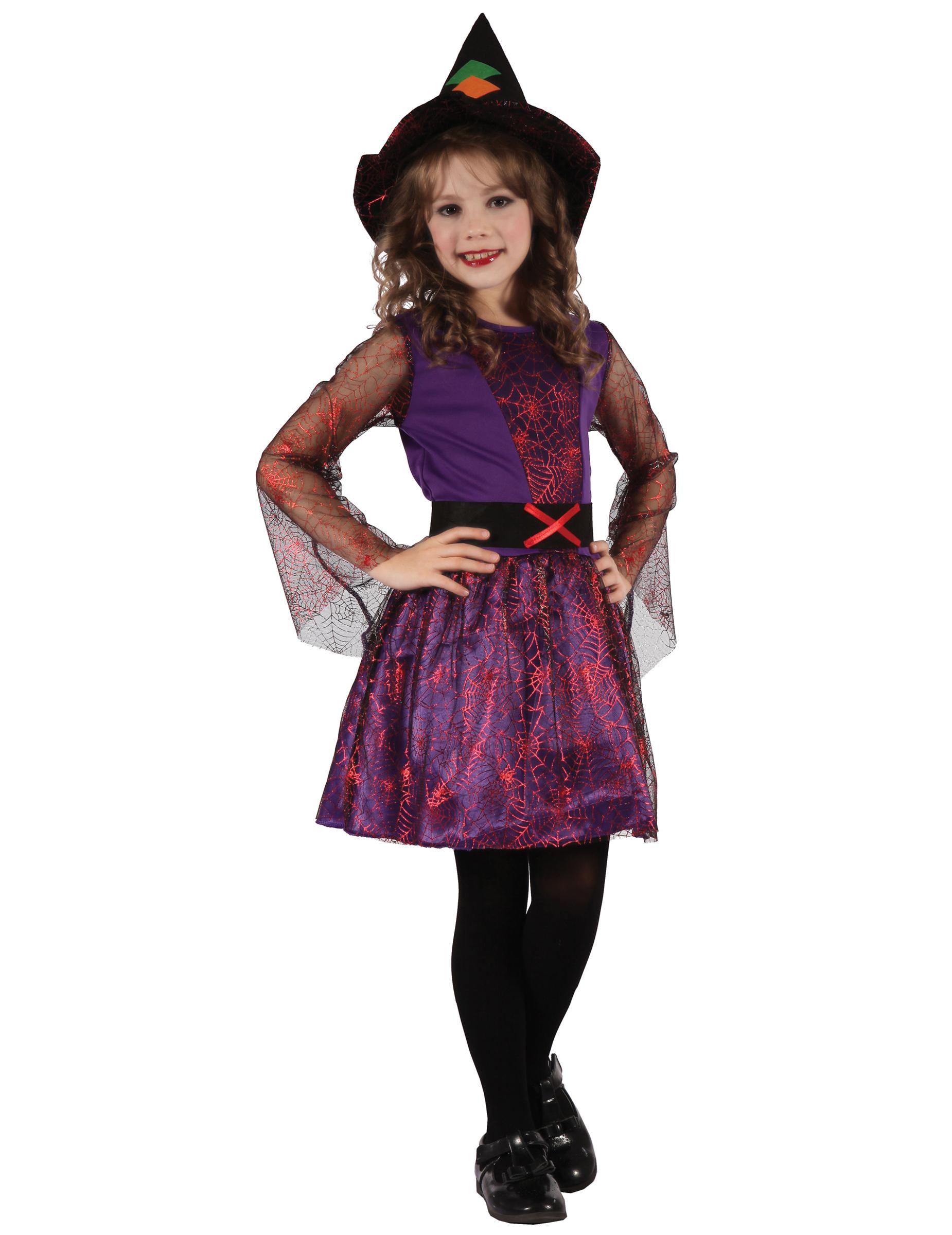 Tjusig Halloween häxa - Halloweendräkt för barn 7b9f2c3a06176