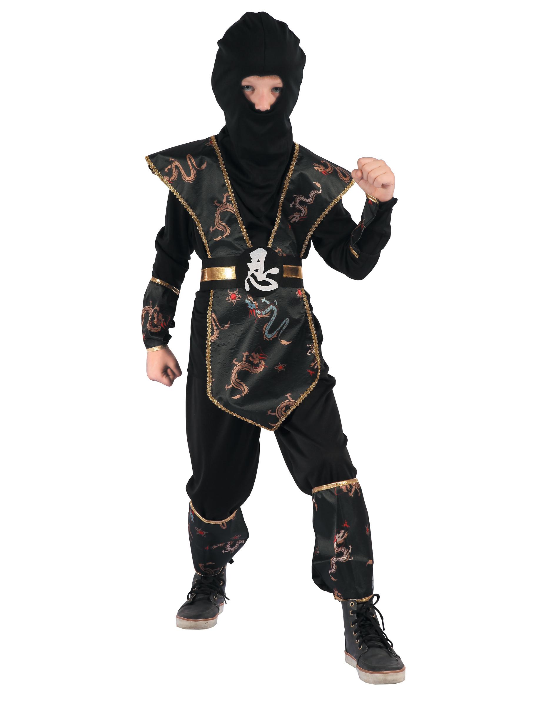 Disfraz de Ninja Negro - disfrazjaiakcom