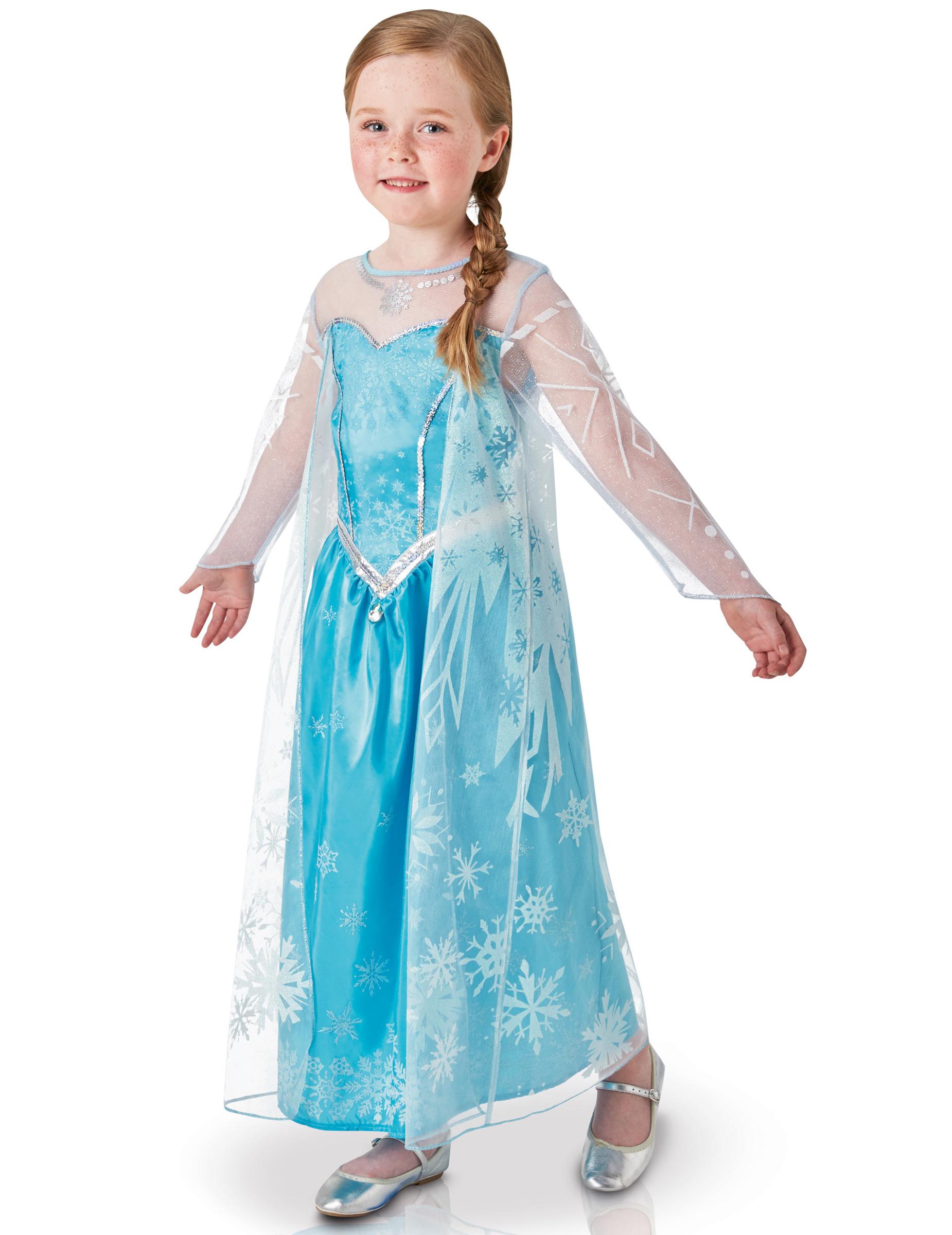 Frost™ Elsa Klänning för Barn - Lyxig b463c1a3de8dd