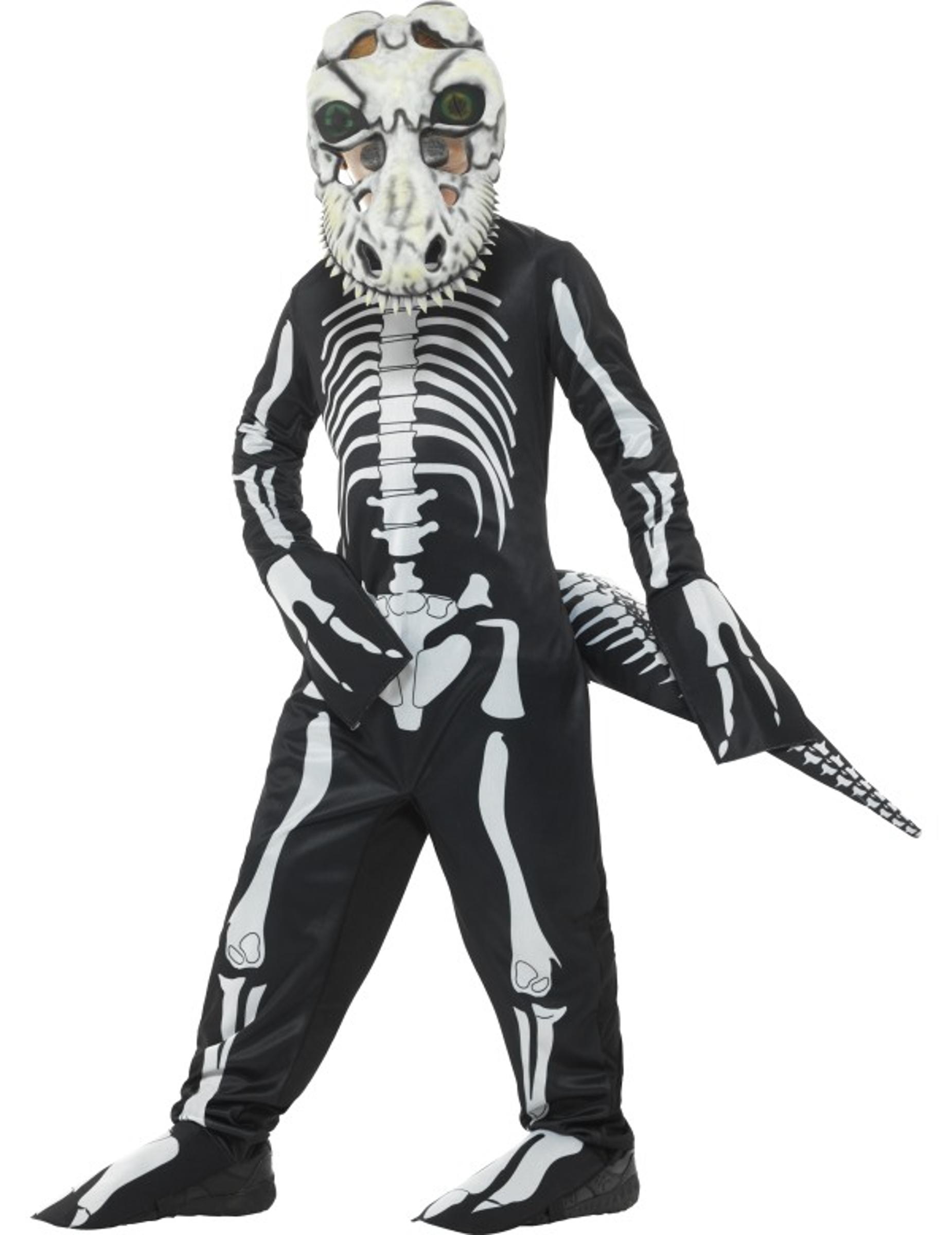 Tyrannosaurus skelett - Halloweenkostym för barn b3ba52cd3b344
